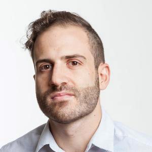A portrait of Evan Agovino
