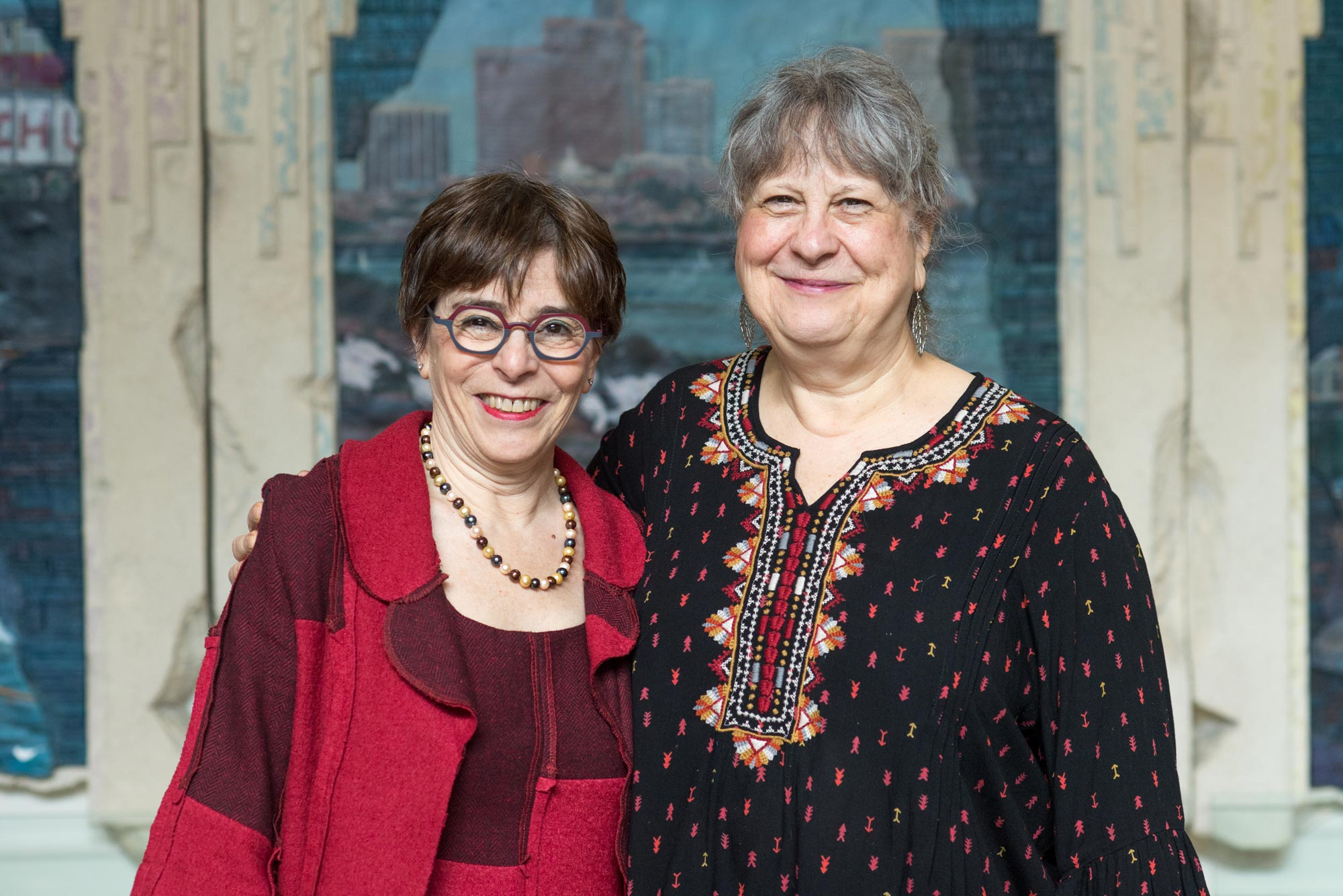 A photo of Sargent mentors Deborah Claar and Nancy Lowenstein