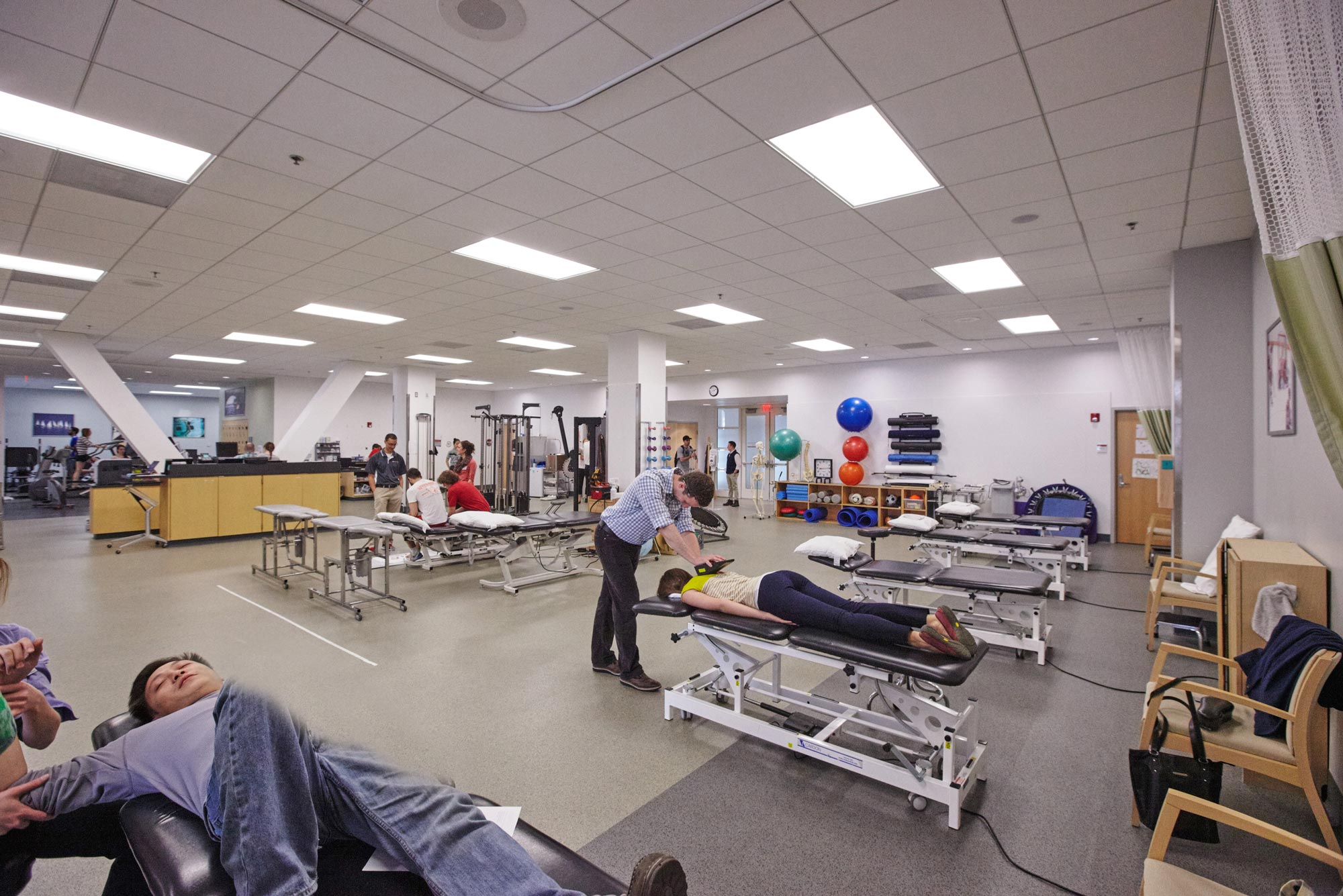 A photo of the BU Physical Therapy Center