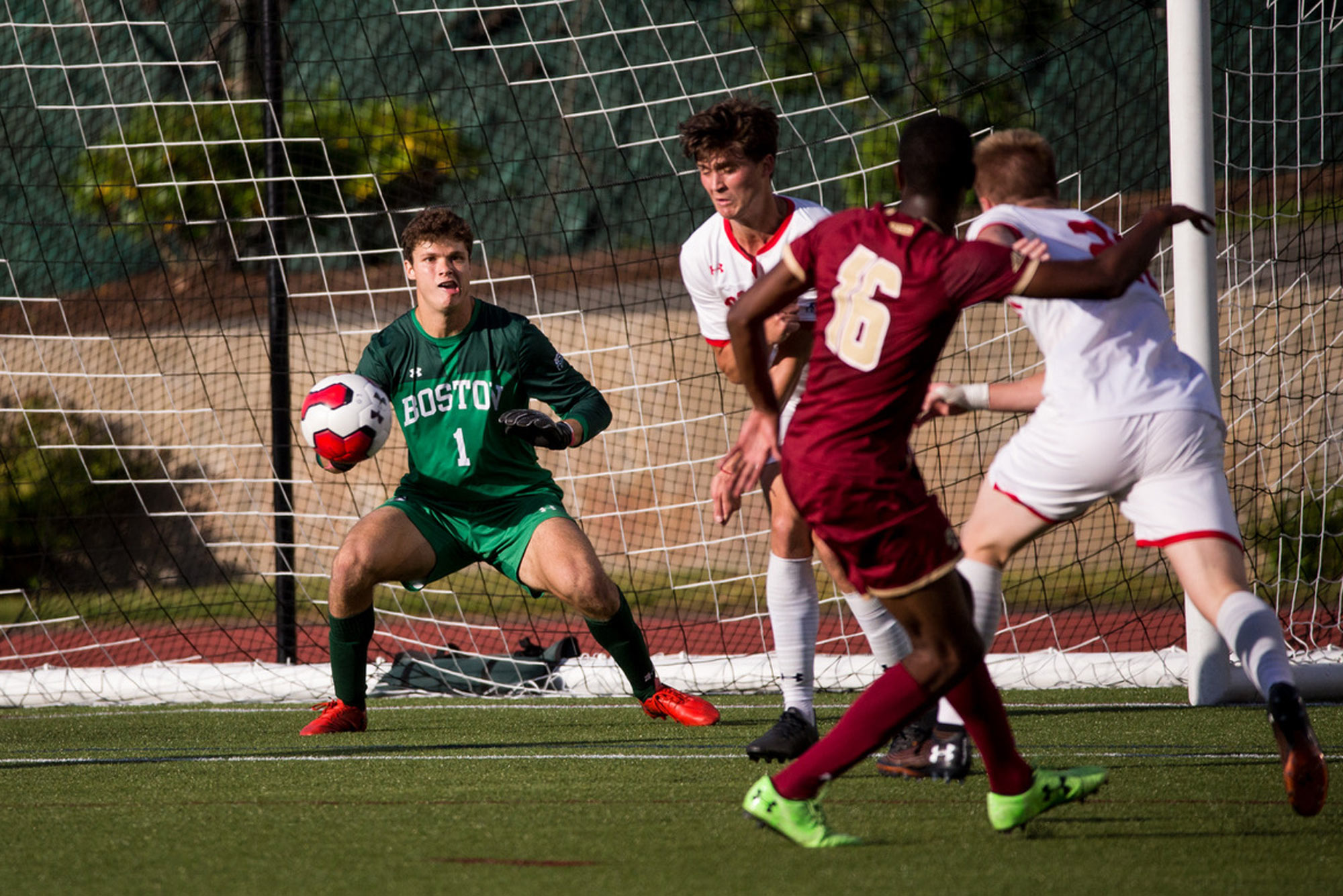 Michael Stone is among five seniors on the BU men's soccer team whose senior season has been cancelled.