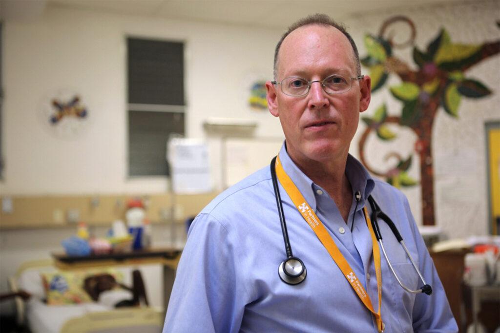 A portrait photo of Paul Farmer