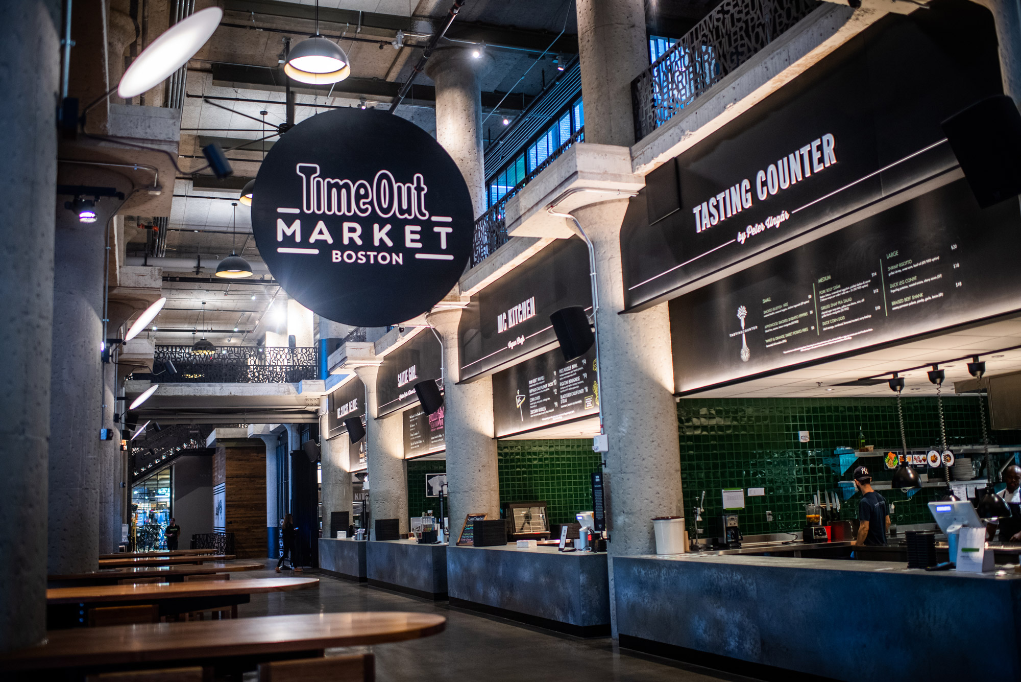 A photo of the interior of Time Out Market