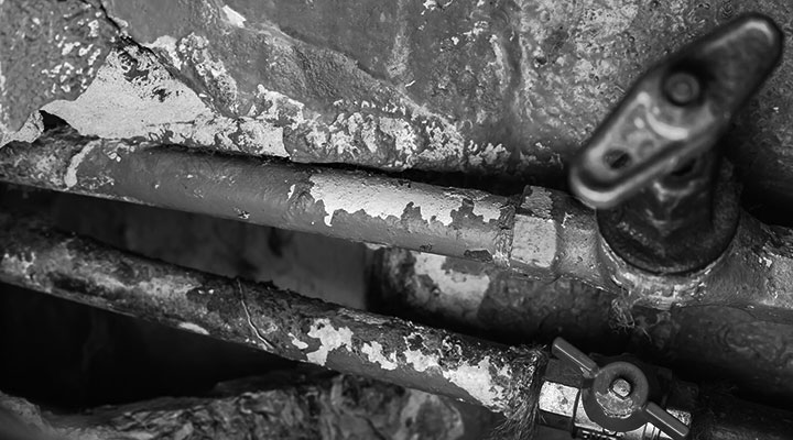 A photo of pipes
