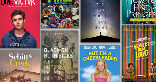 Celebrate Pride Month with These Books, Podcasts, Movies, and TV Shows