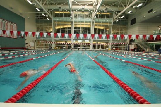 Competition Pool Fitness Recreation Center Boston University