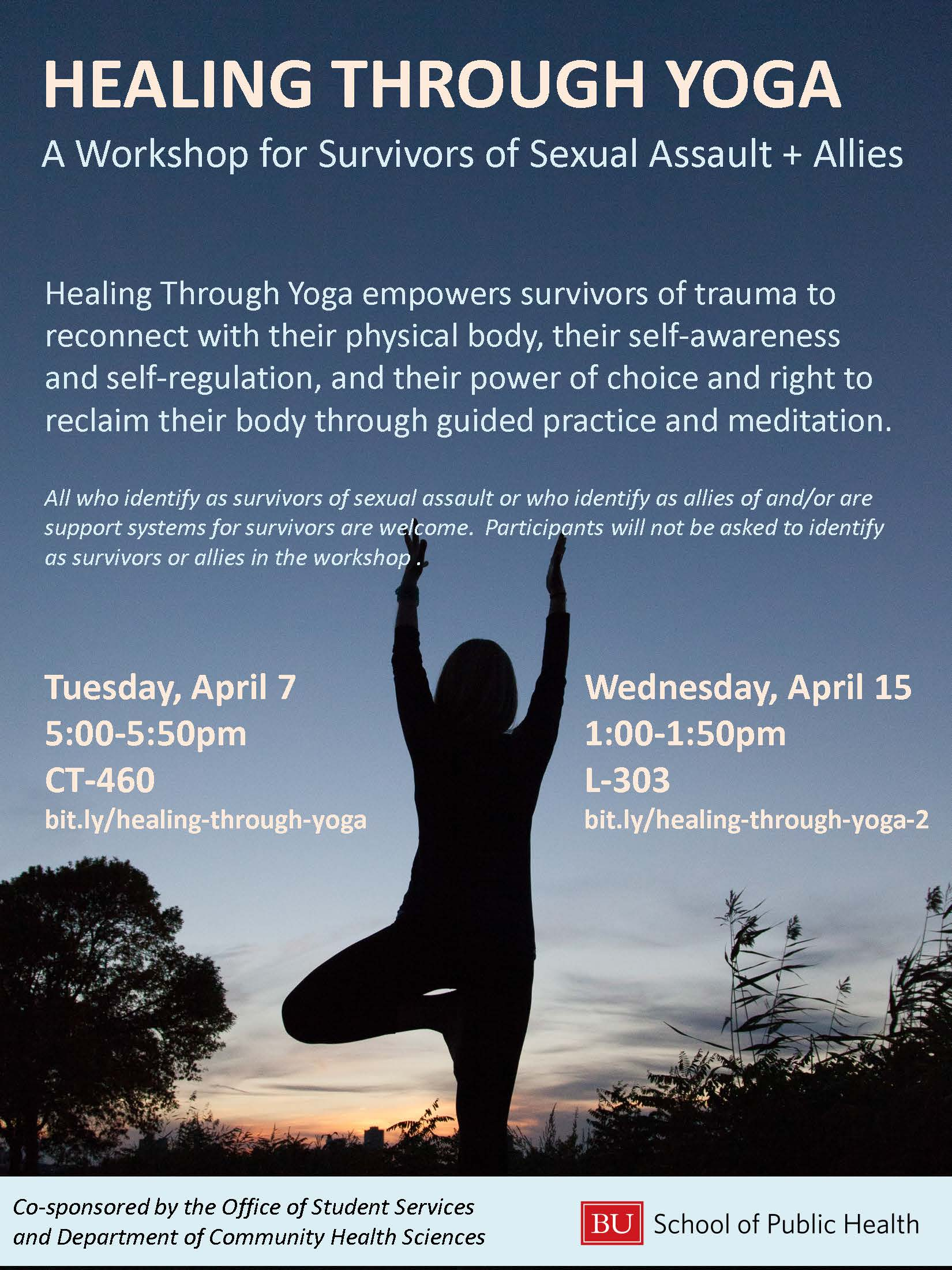 WGH Poster Healing Through Yoga