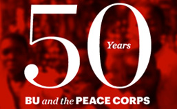 50 Years of BU and the Peace Corps