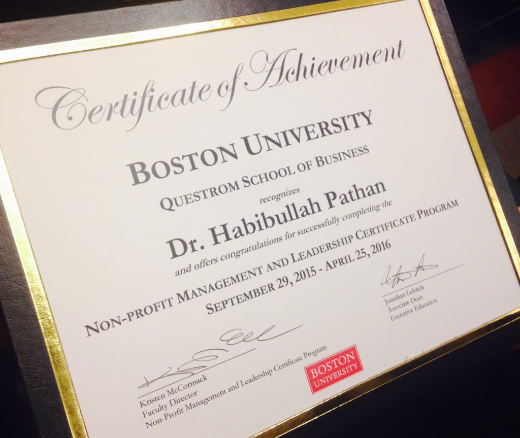 certificate nonprofit programs management leadership program fellows tesol complete bu fellowship humphrey