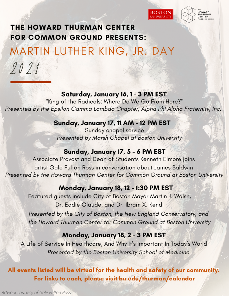 MARTIN LUTHER KING, JR. DAY 2021 | School of Hospitality