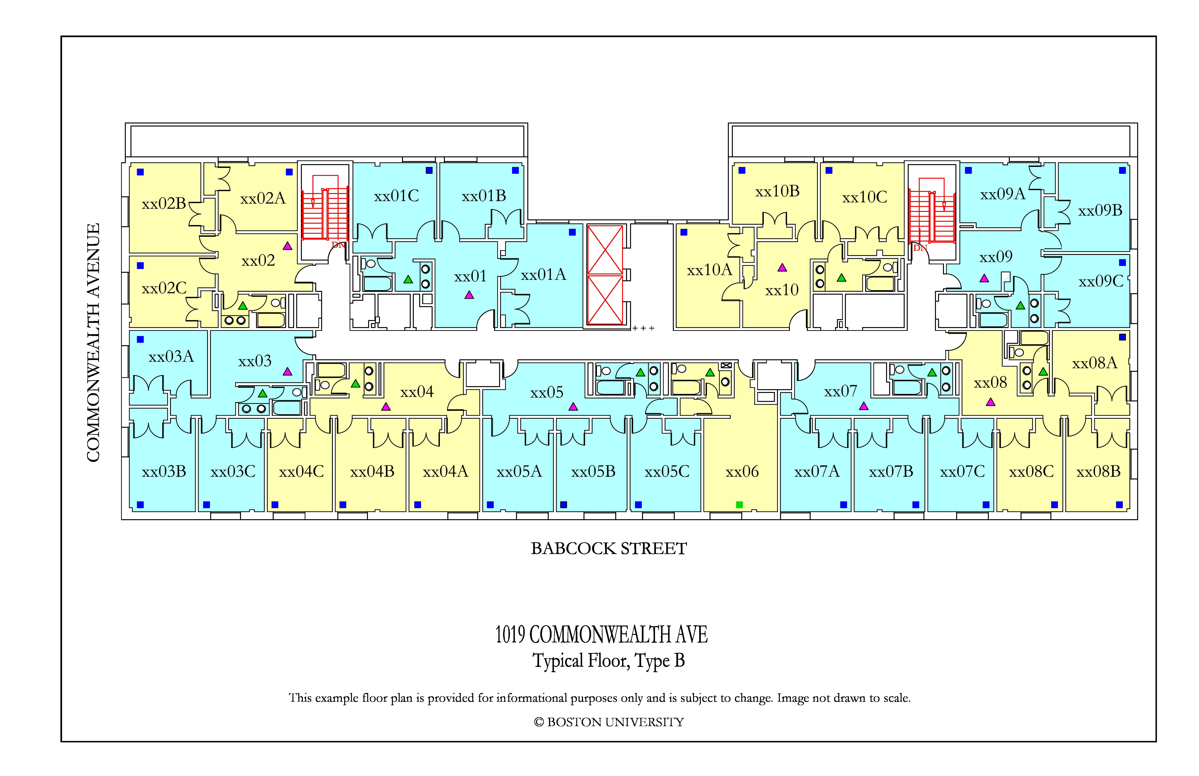 Bu Housing Floor Plans: 1019 Commonwealth Ave Floor Plan » Housing