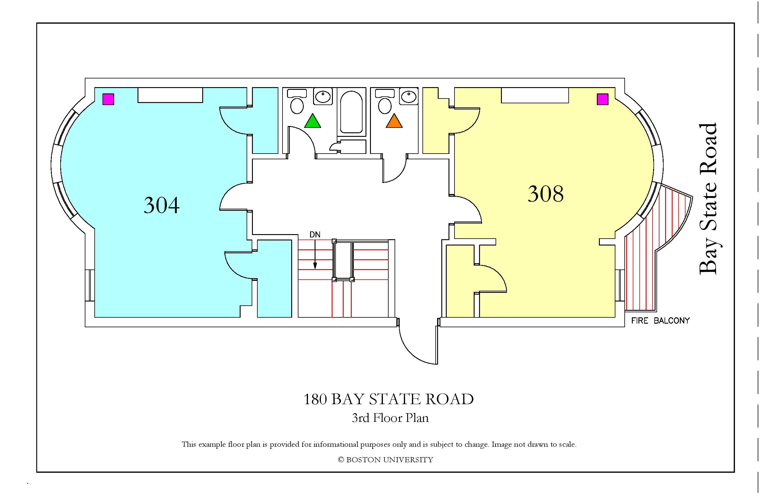 Bu Housing Floor Plans: 180 Bay State Road » Housing
