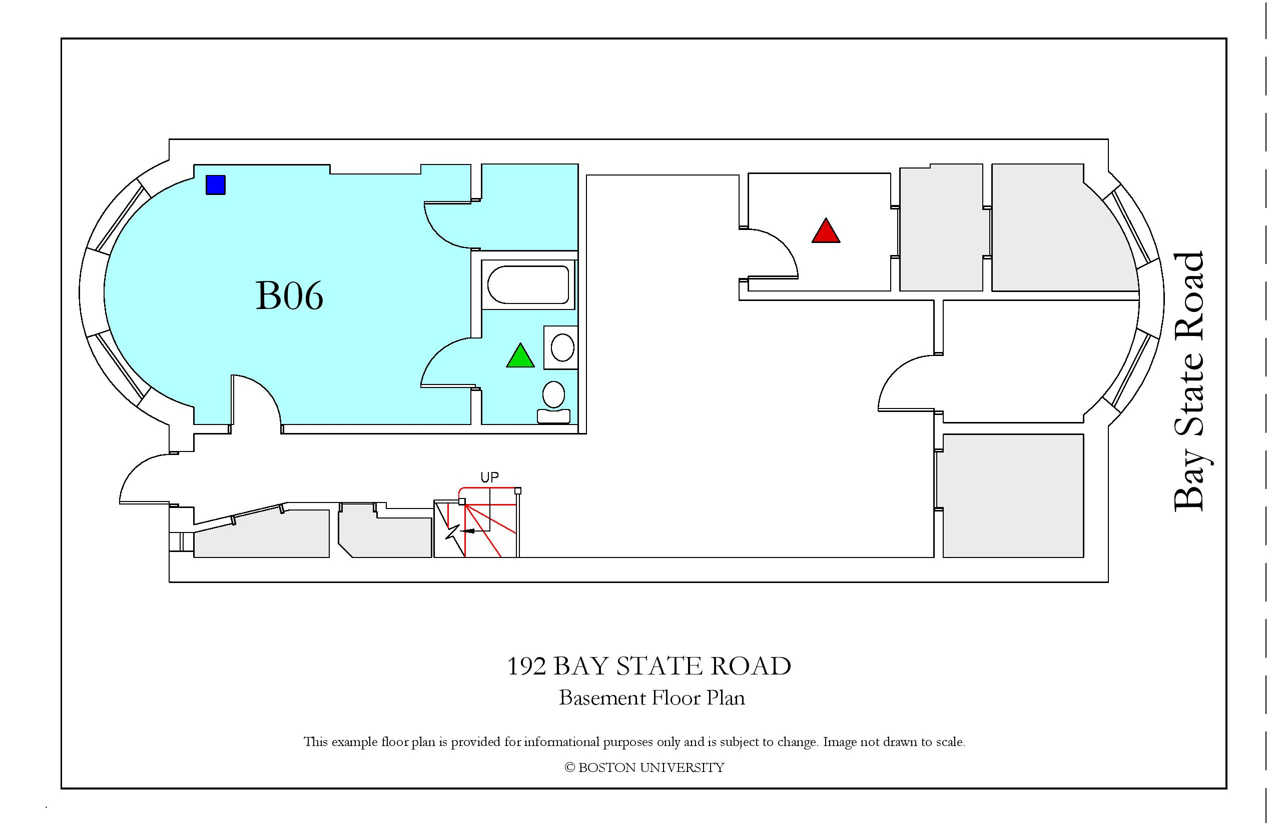 192 Bay State Road Housing Boston University Example Diagram Basementfloor Page 001