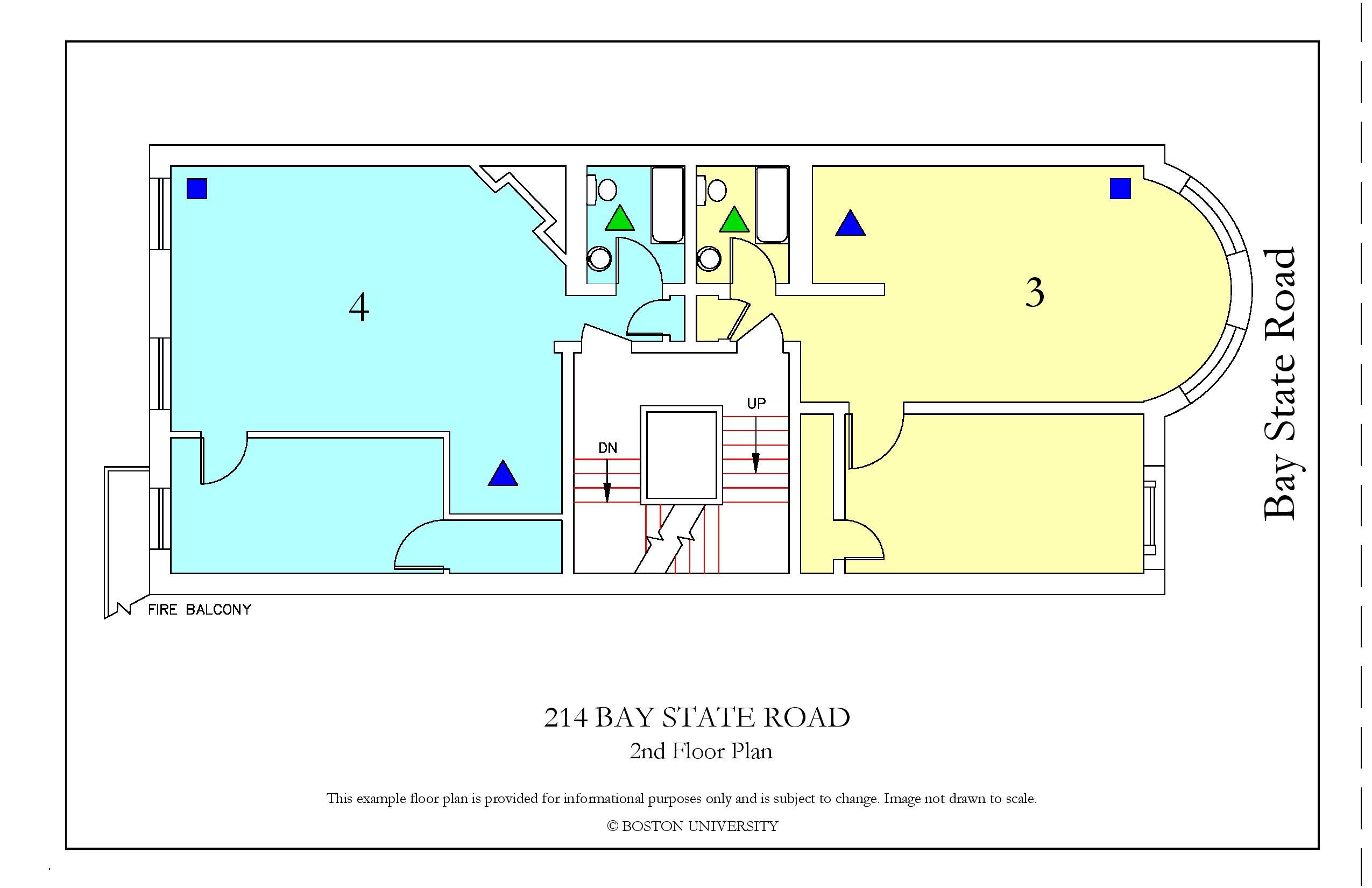 Bu Housing Floor Plans: 214 Bay State Road » Housing