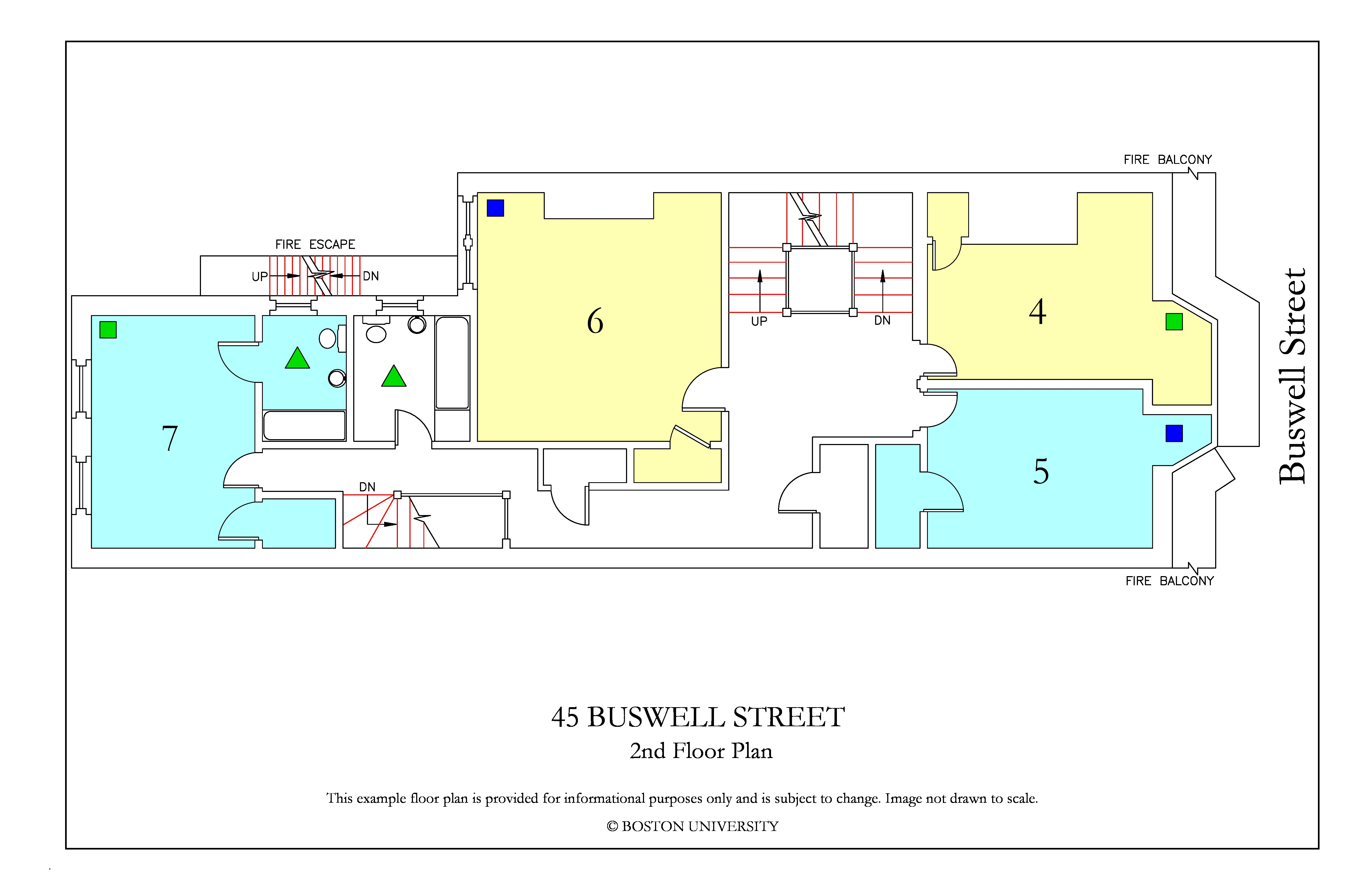 Bu Housing Floor Plans: 45 Buswell Street » Housing