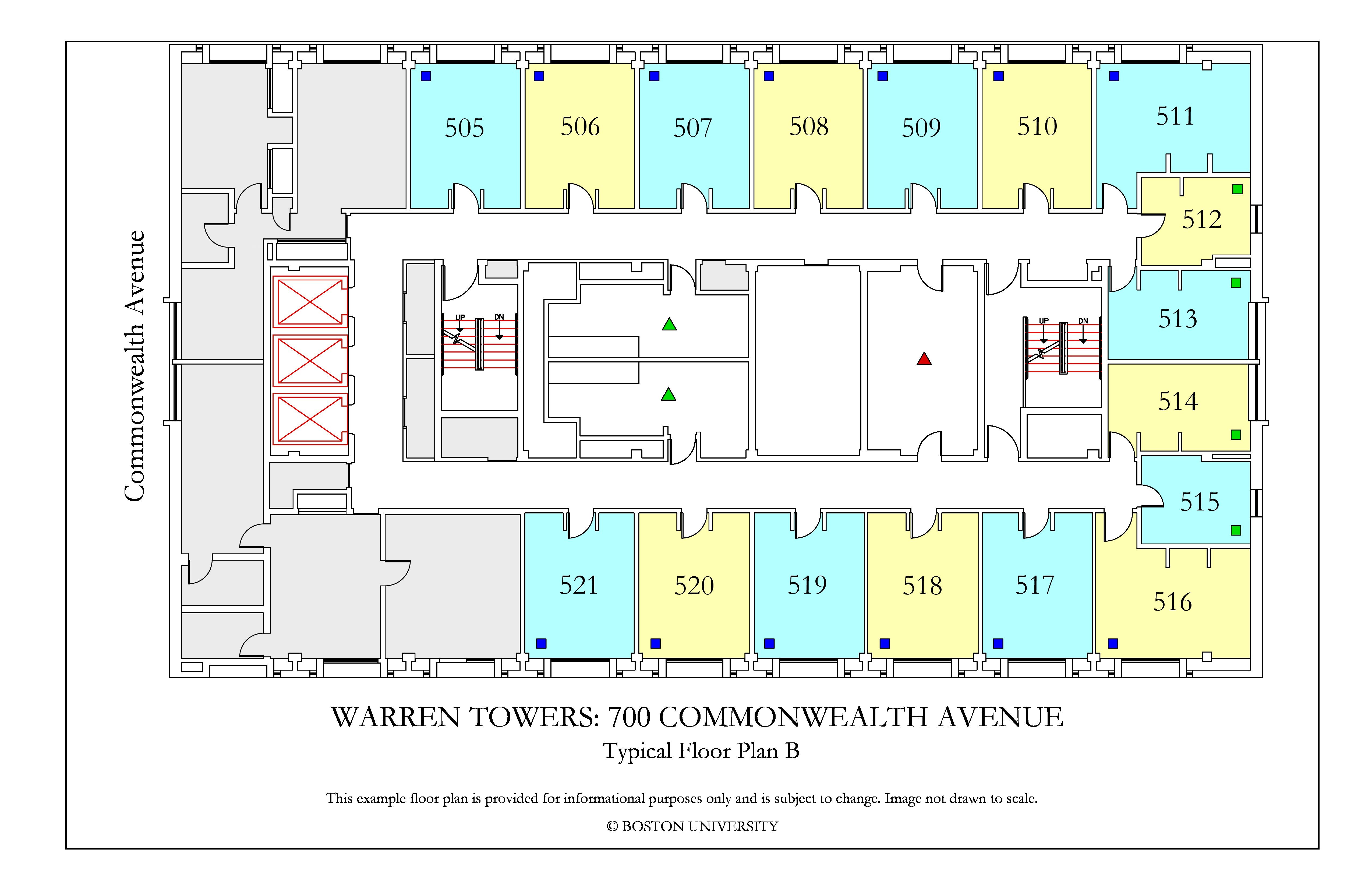 Bu Housing Floor Plans: Warren Towers Floor Plans » Housing