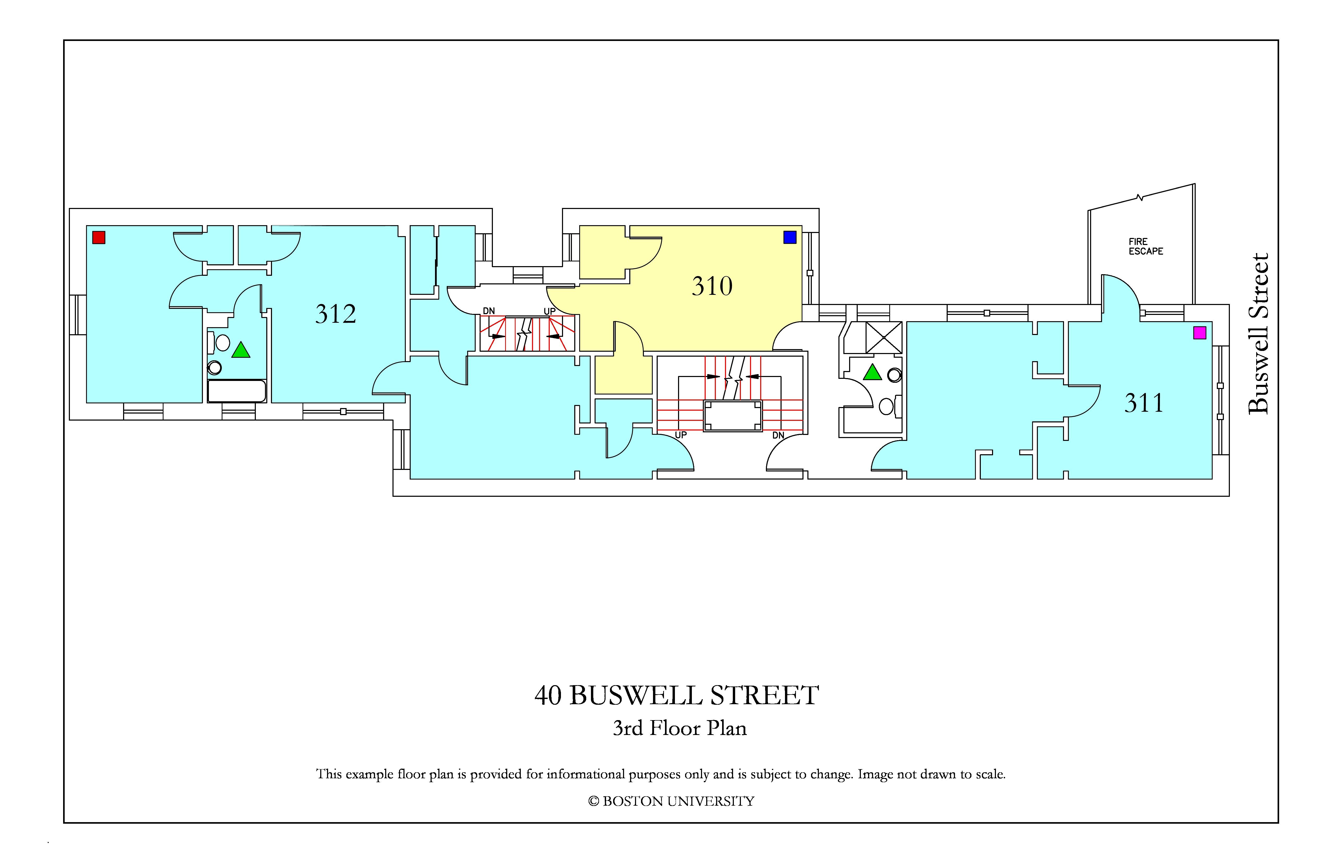 Bu Housing Floor Plans: 40 Buswell Street » Housing