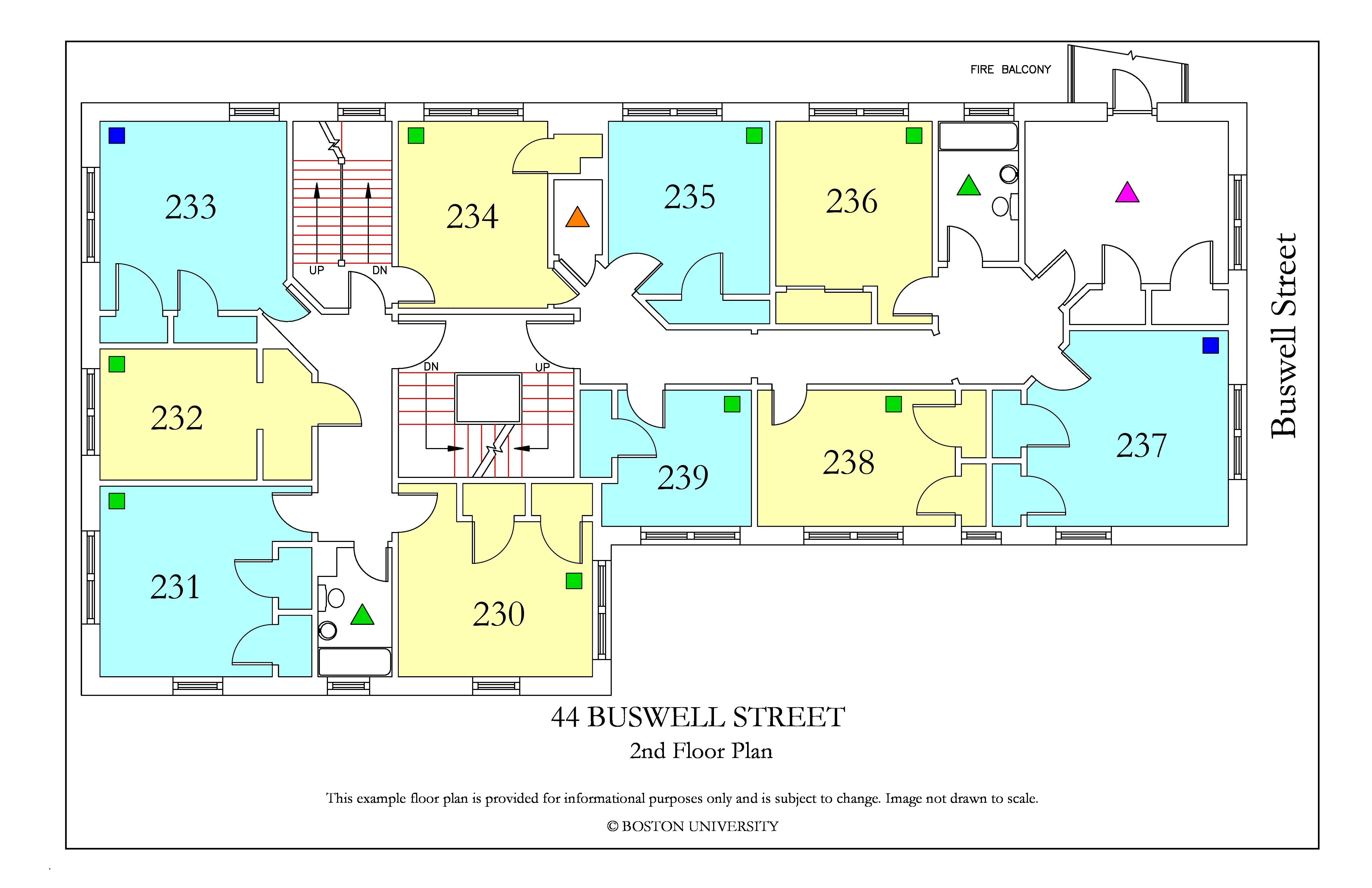 Bu Housing Floor Plans: 44 Buswell Street » Housing