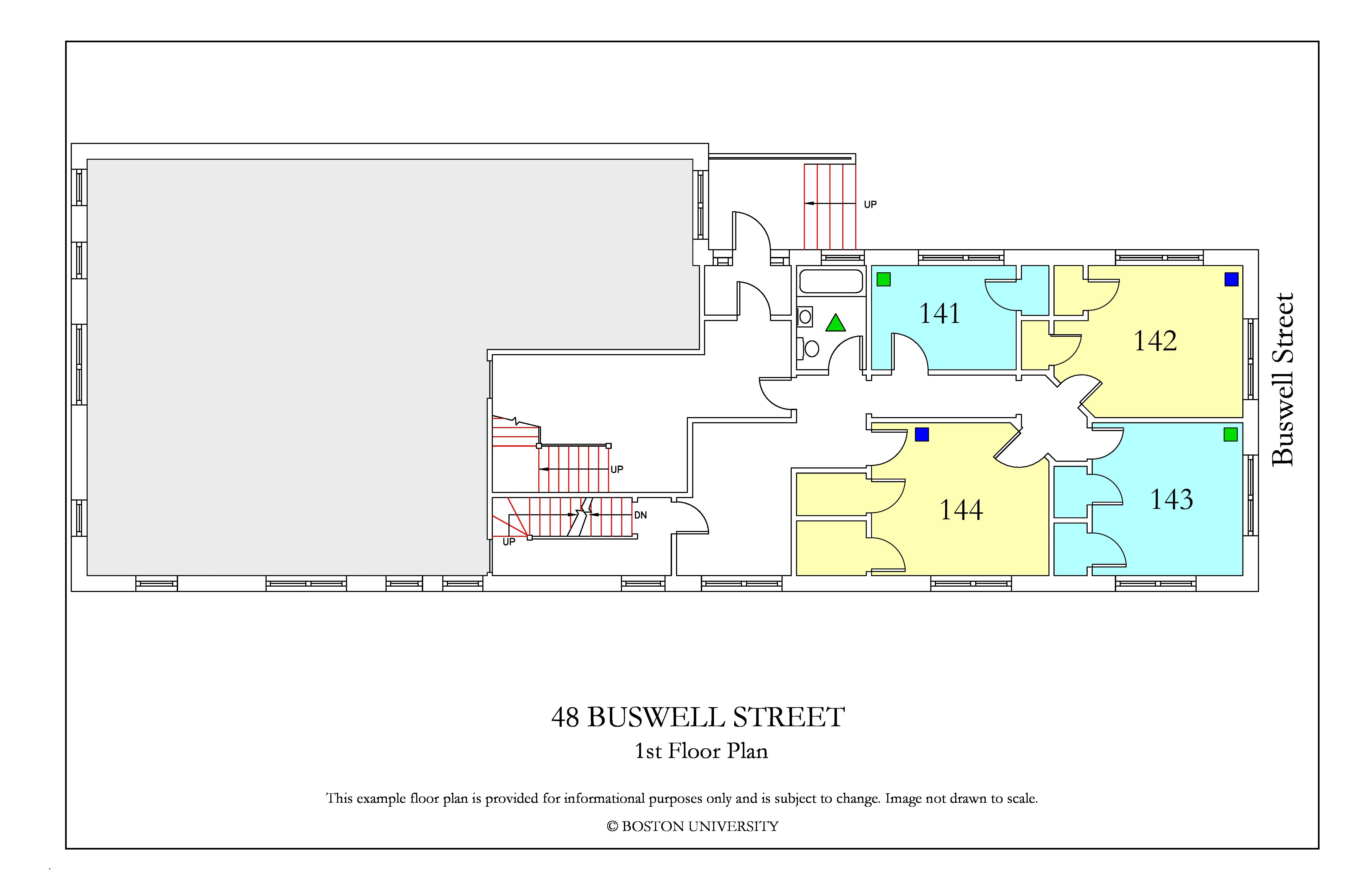 Bu Housing Floor Plans: 48 Buswell Street » Housing