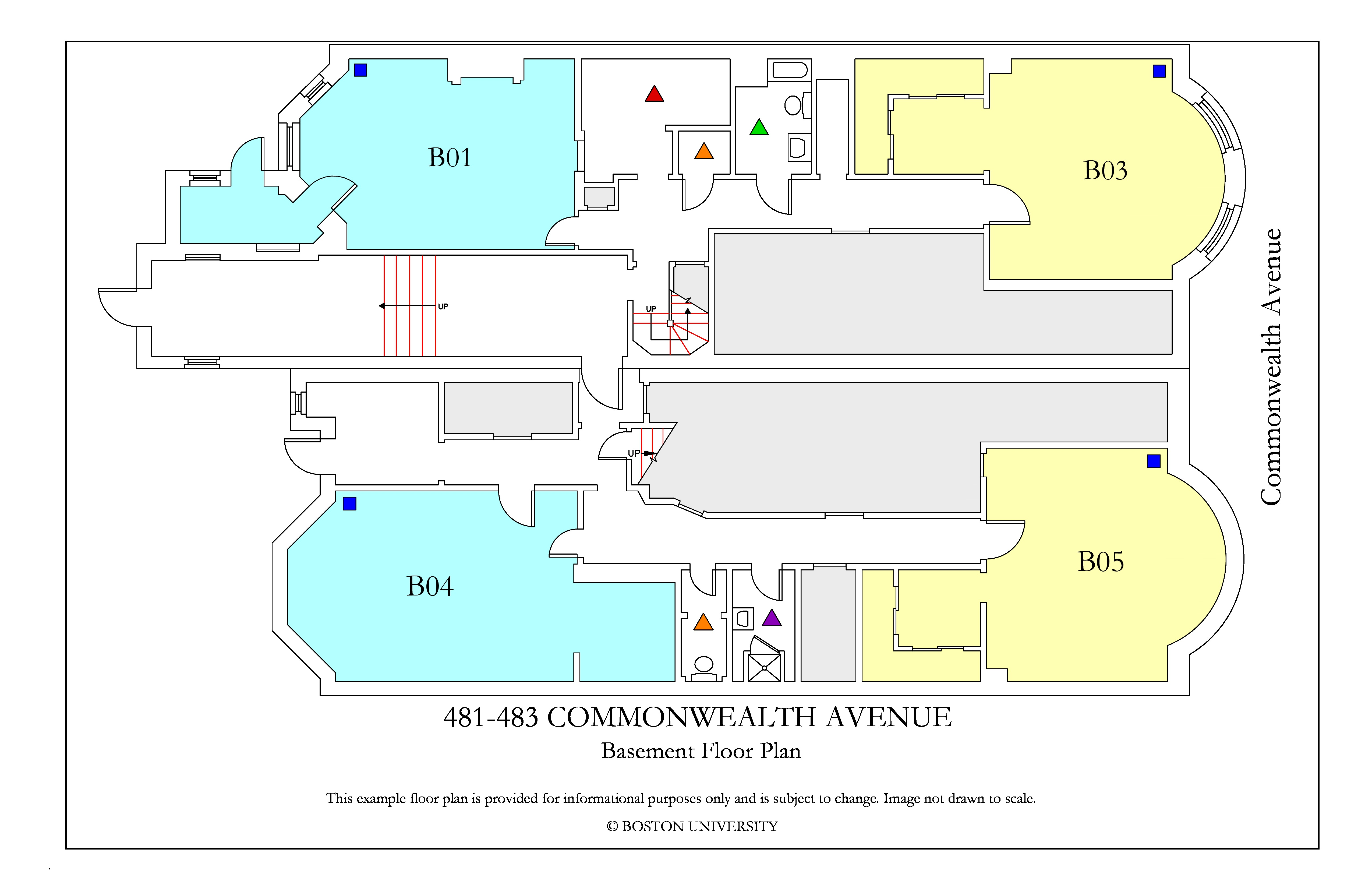 481-483 Commonwealth_BasementFloor