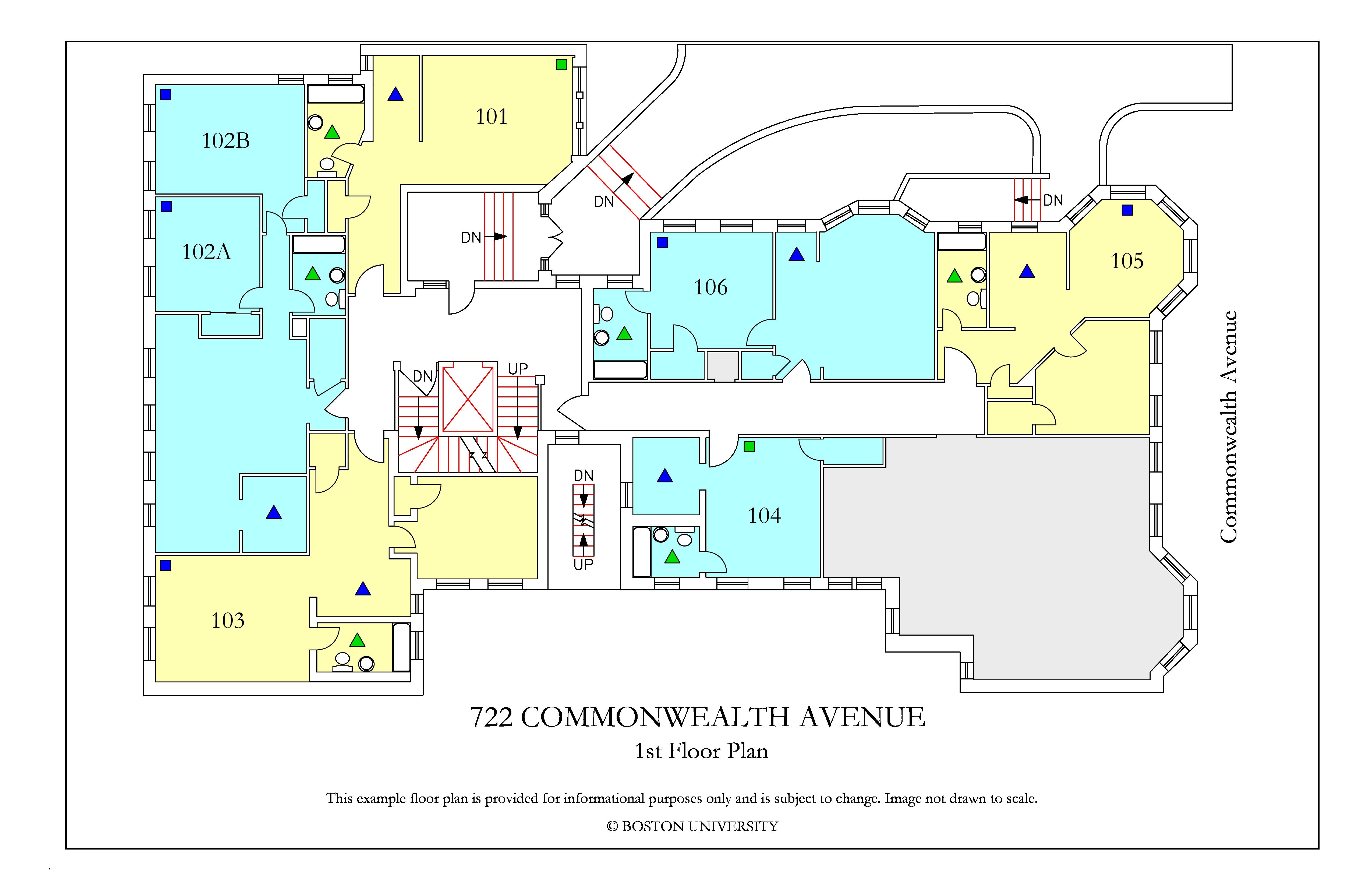 Bu Housing Floor Plans: 722 Commonwealth Avenue » Housing