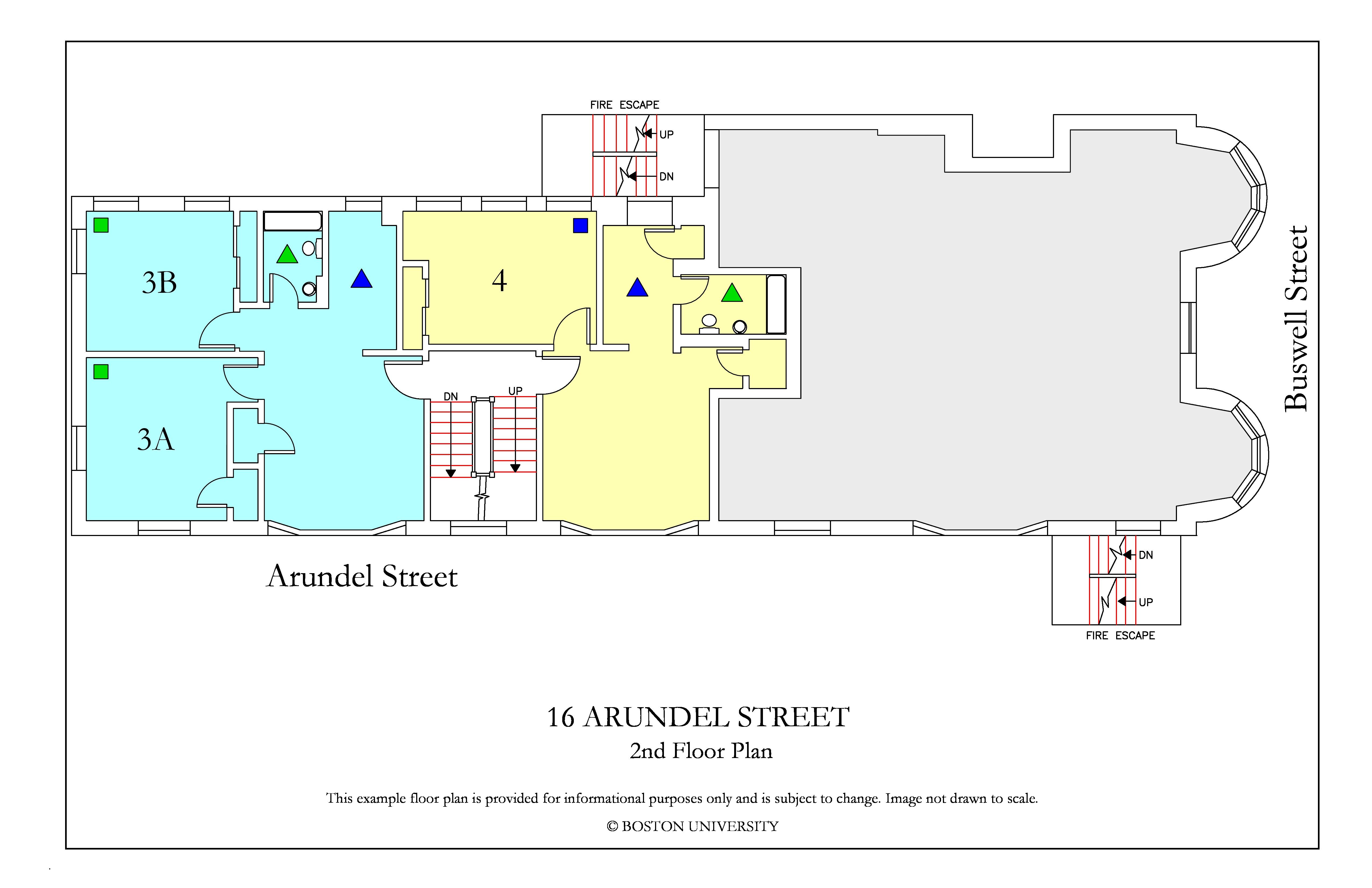 Bu Housing Floor Plans: 16 Arundel Street » Housing