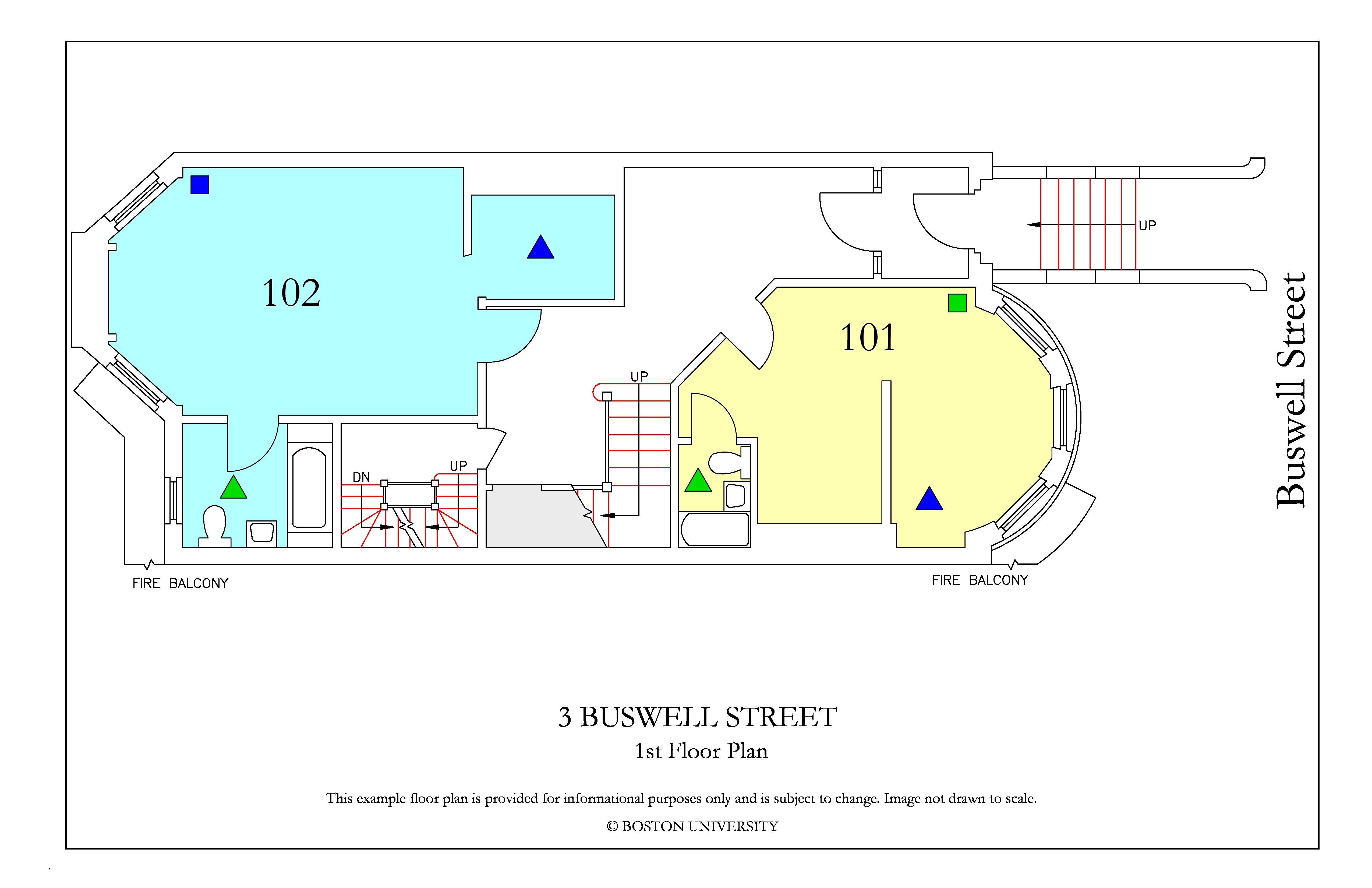 Bu Housing Floor Plans: 3 Buswell Street » Housing