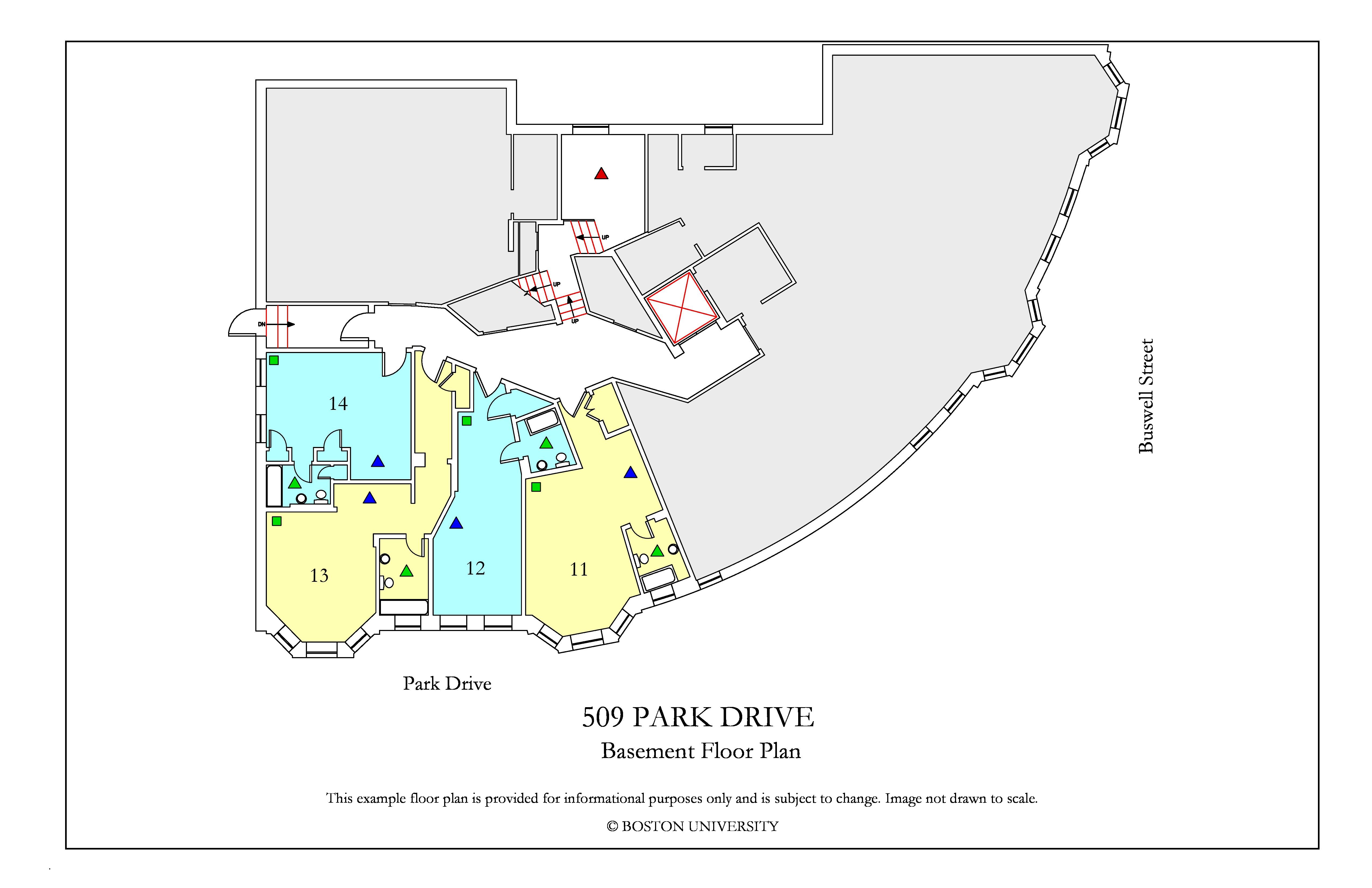Bu Housing Floor Plans: 509 Park Drive » Housing