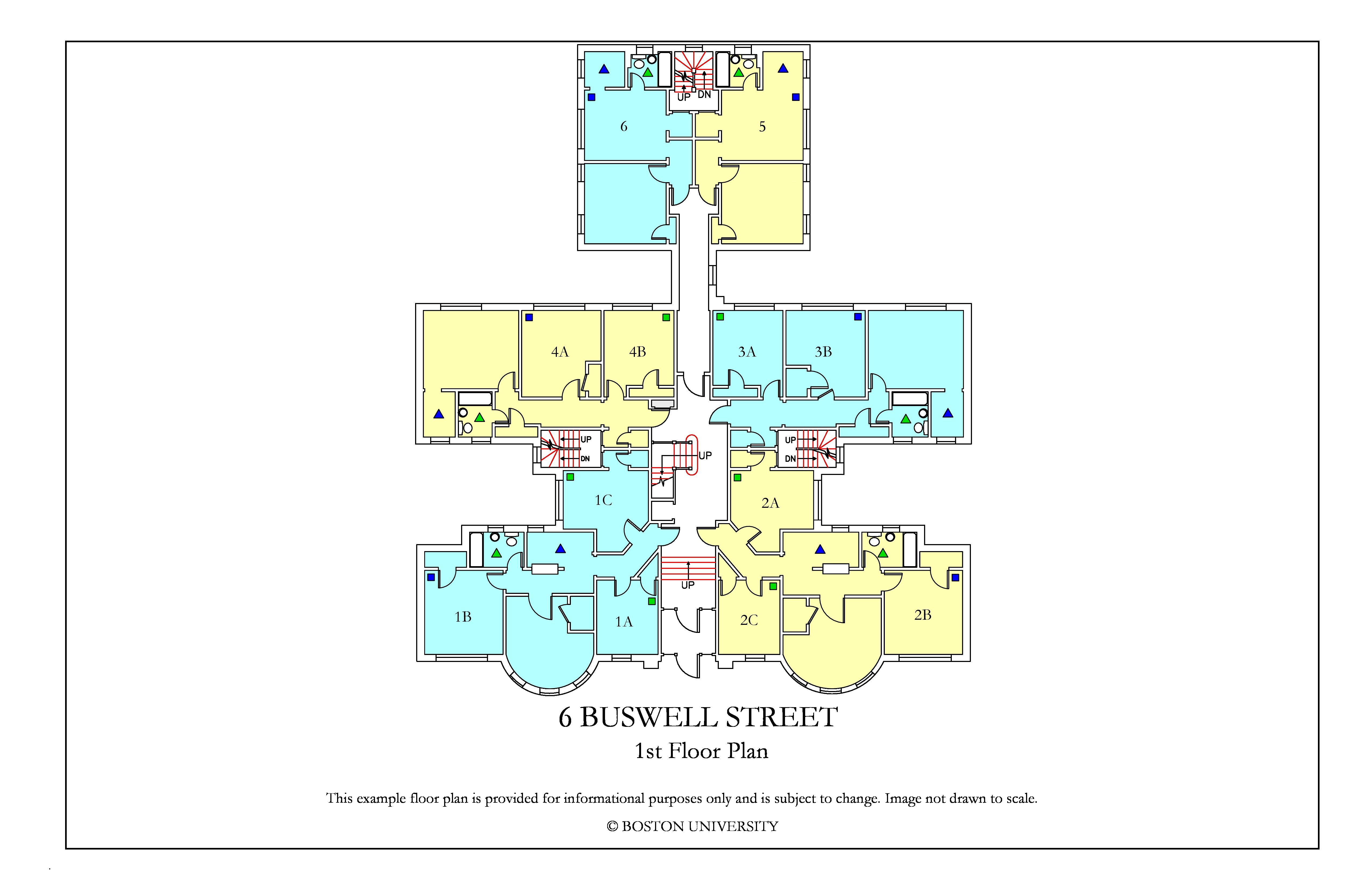 Bu Housing Floor Plans: 6 Buswell Street » Housing