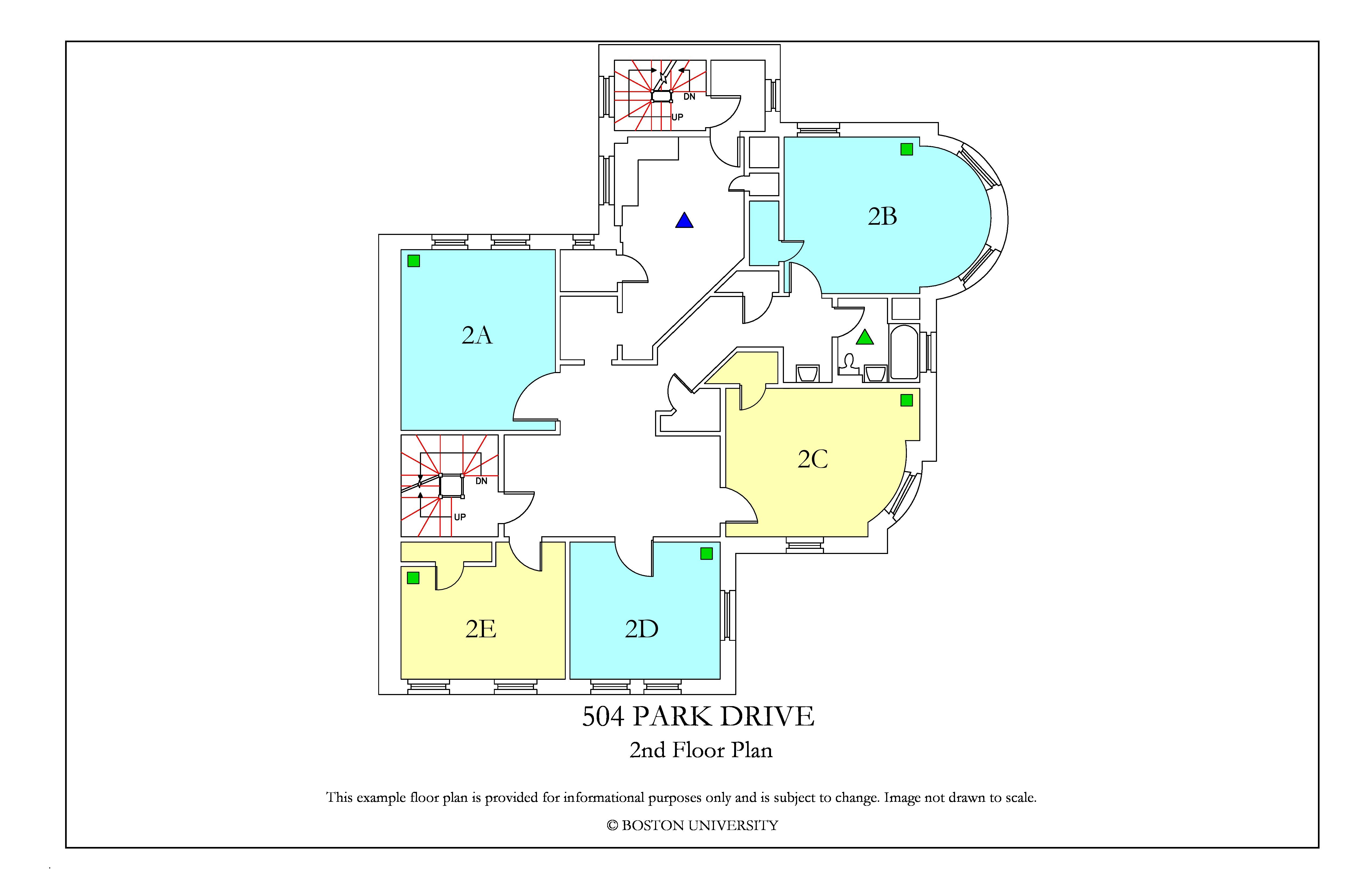 Bu Housing Floor Plans: 504 Park Drive » Housing