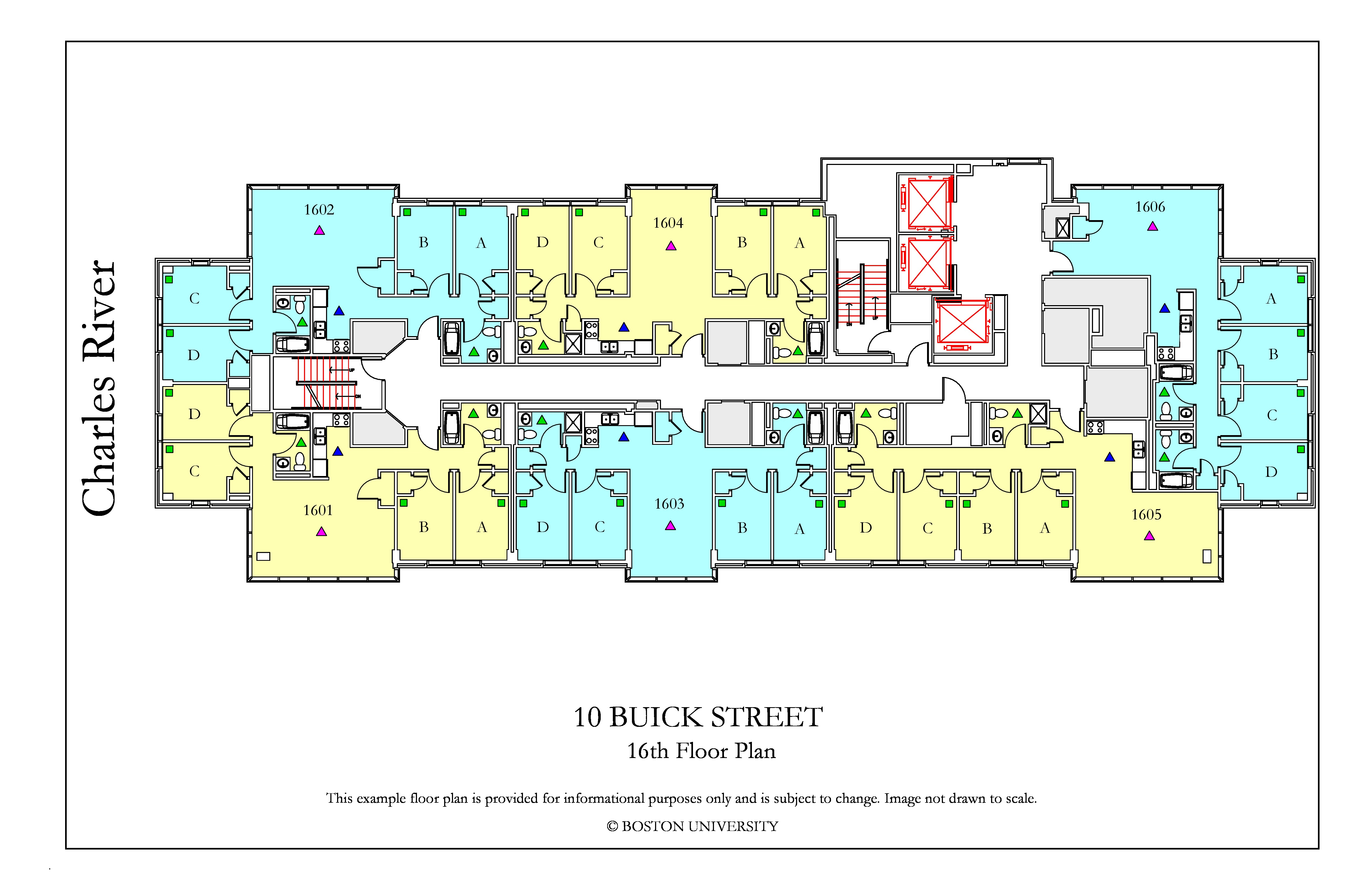 10 Buick Floor Plan 187 Housing Boston University