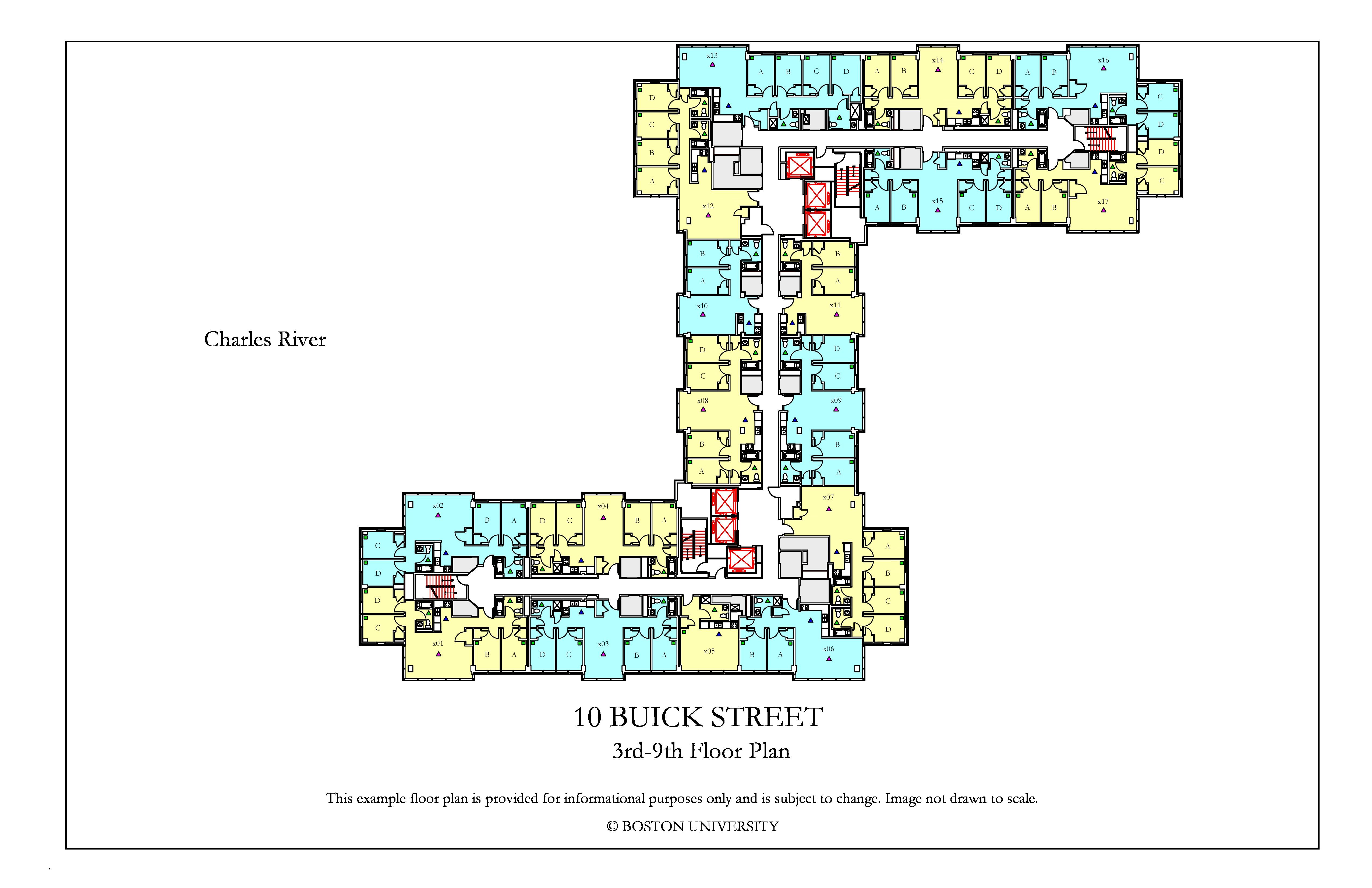 10 Buick Floor Plan Housing