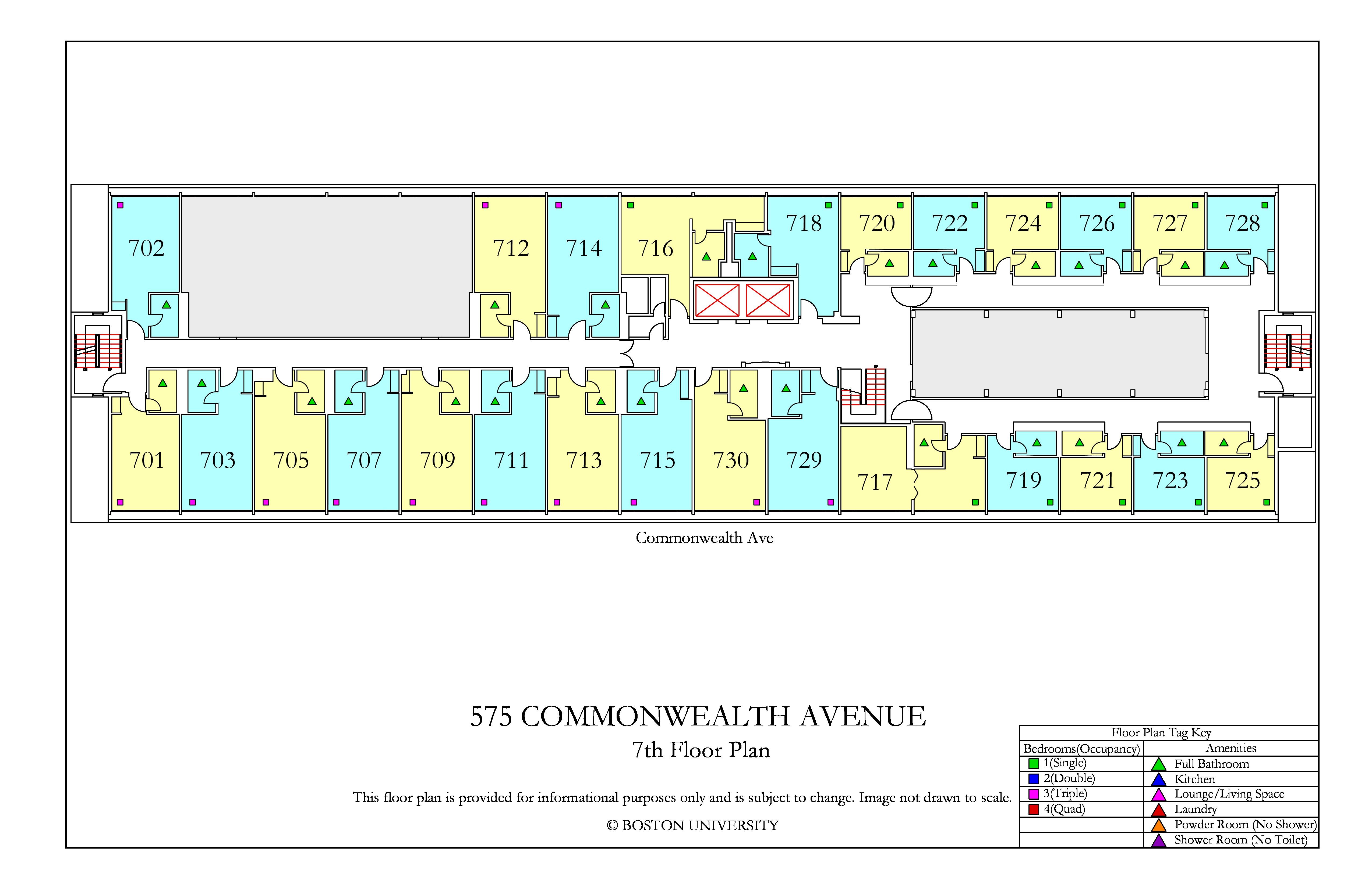 Boston University Dorm Floor Plans