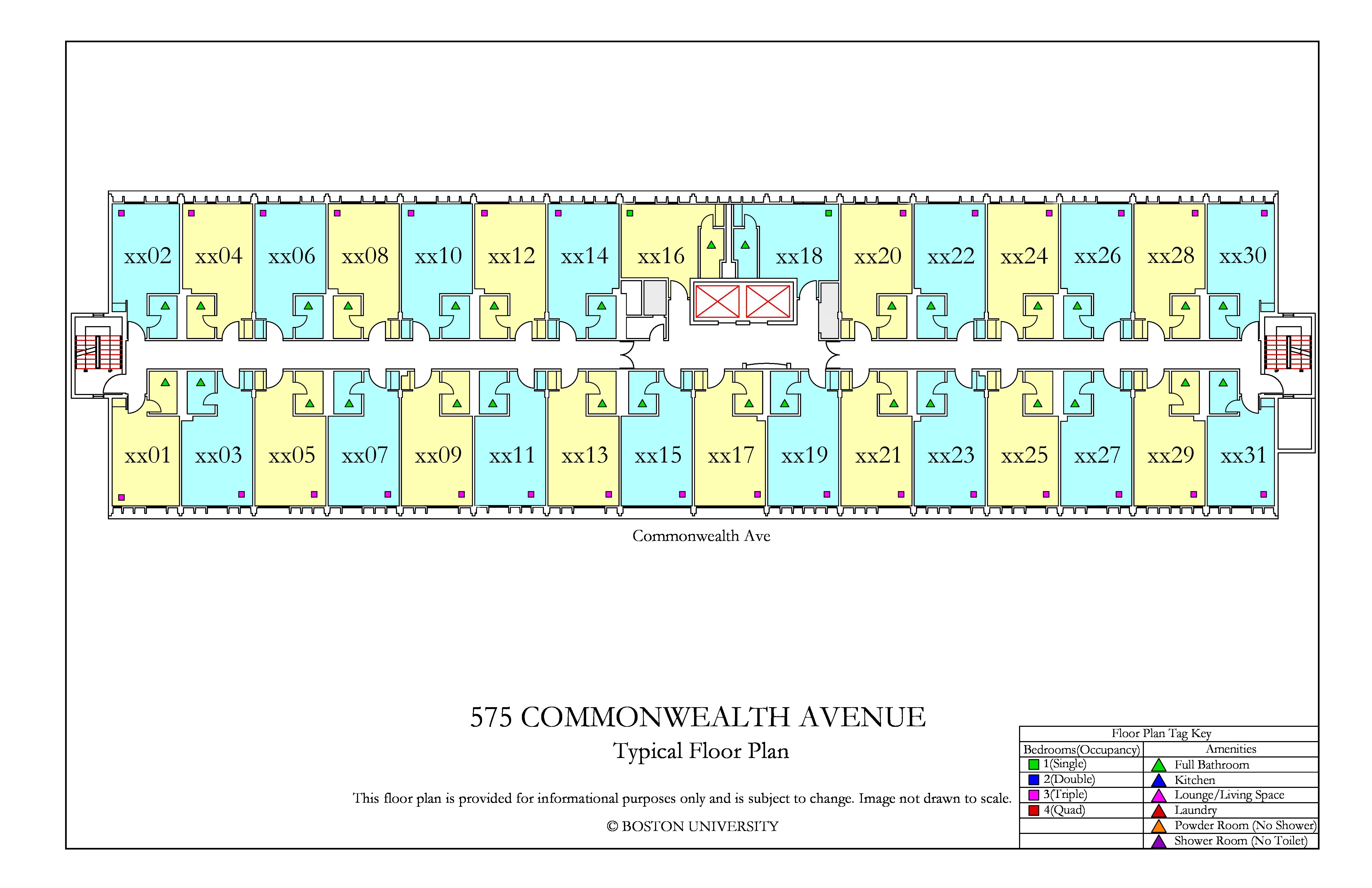 Bu Housing Floor Plans: 575 Commonwealth Ave Floor Plan » Housing