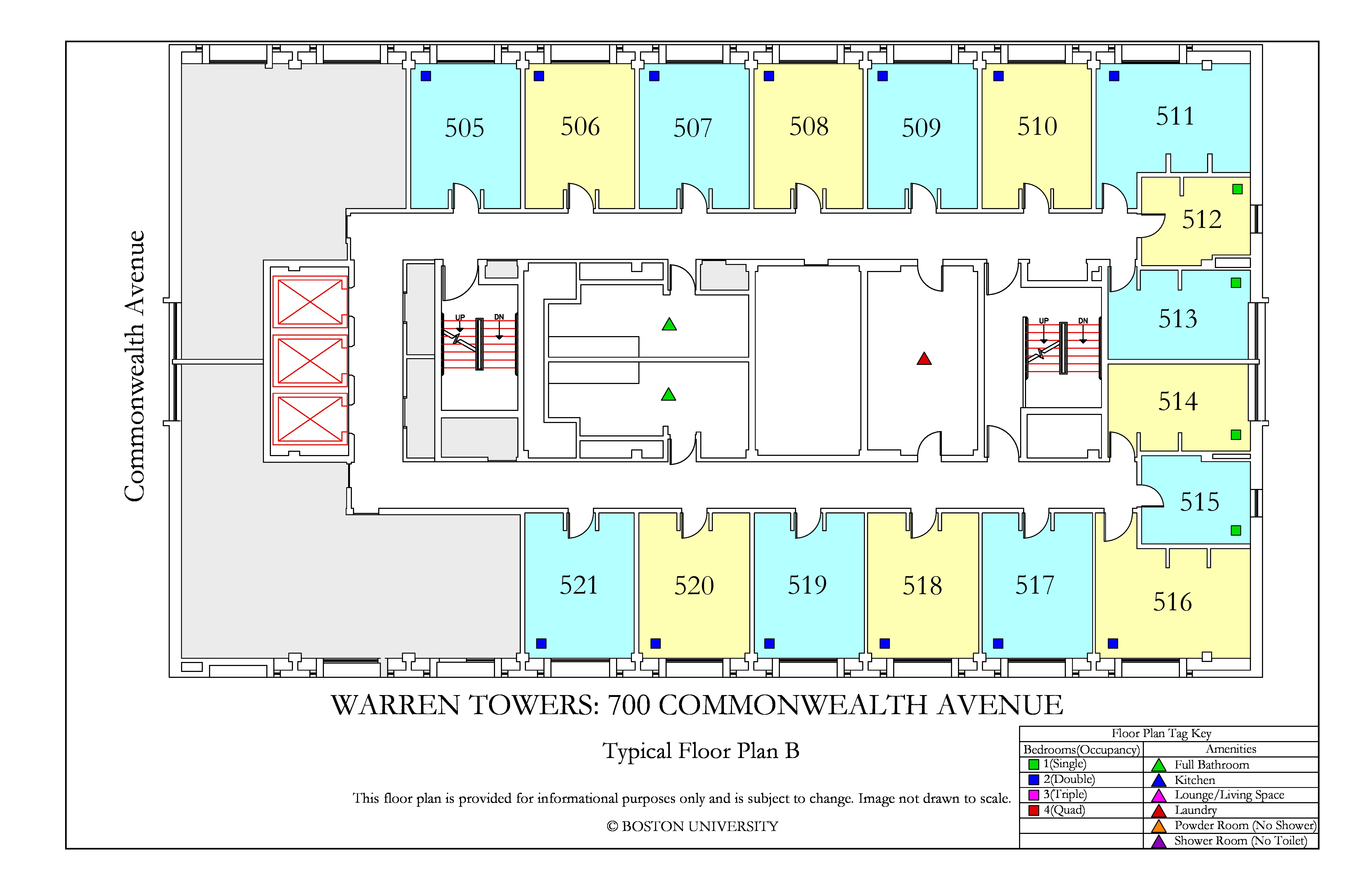 Warren Towers Floor Plans  U00bb Housing