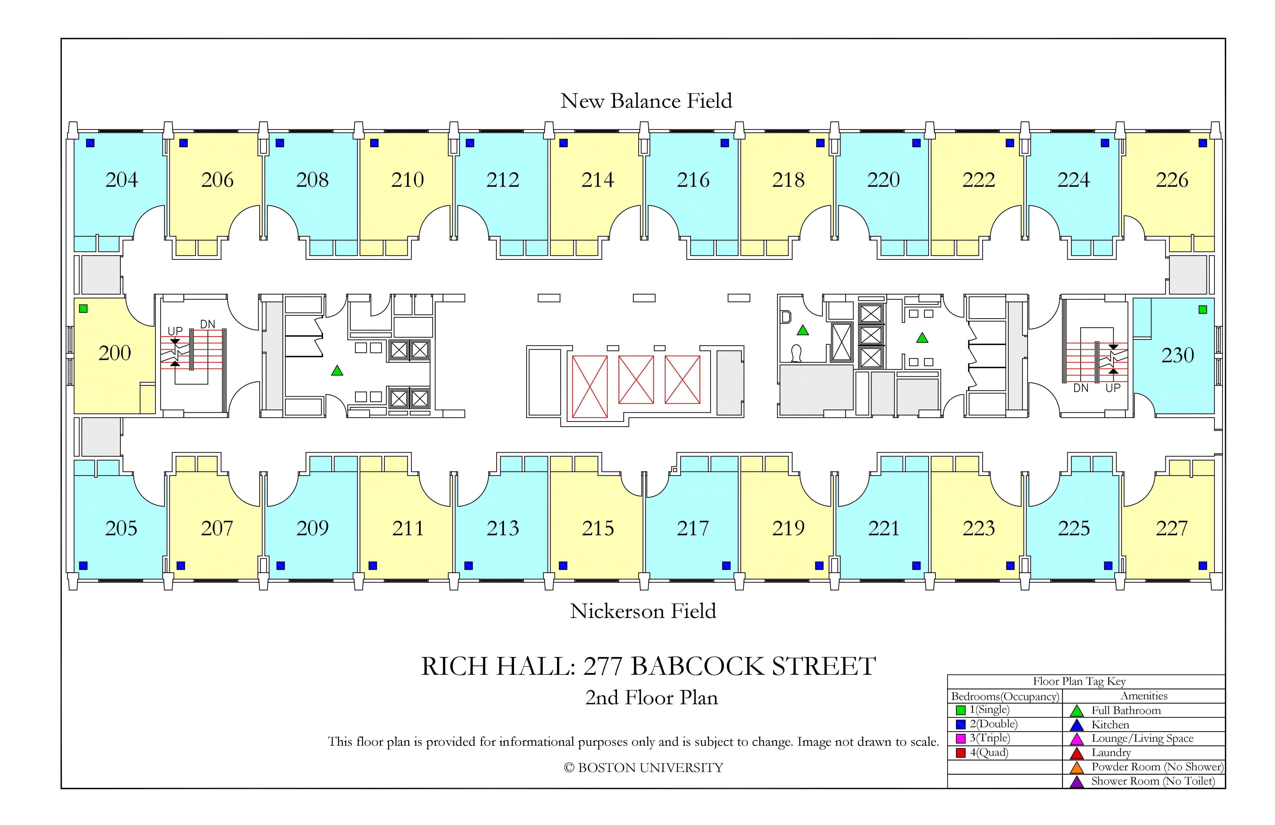 Rich Hall 187 Housing Boston University