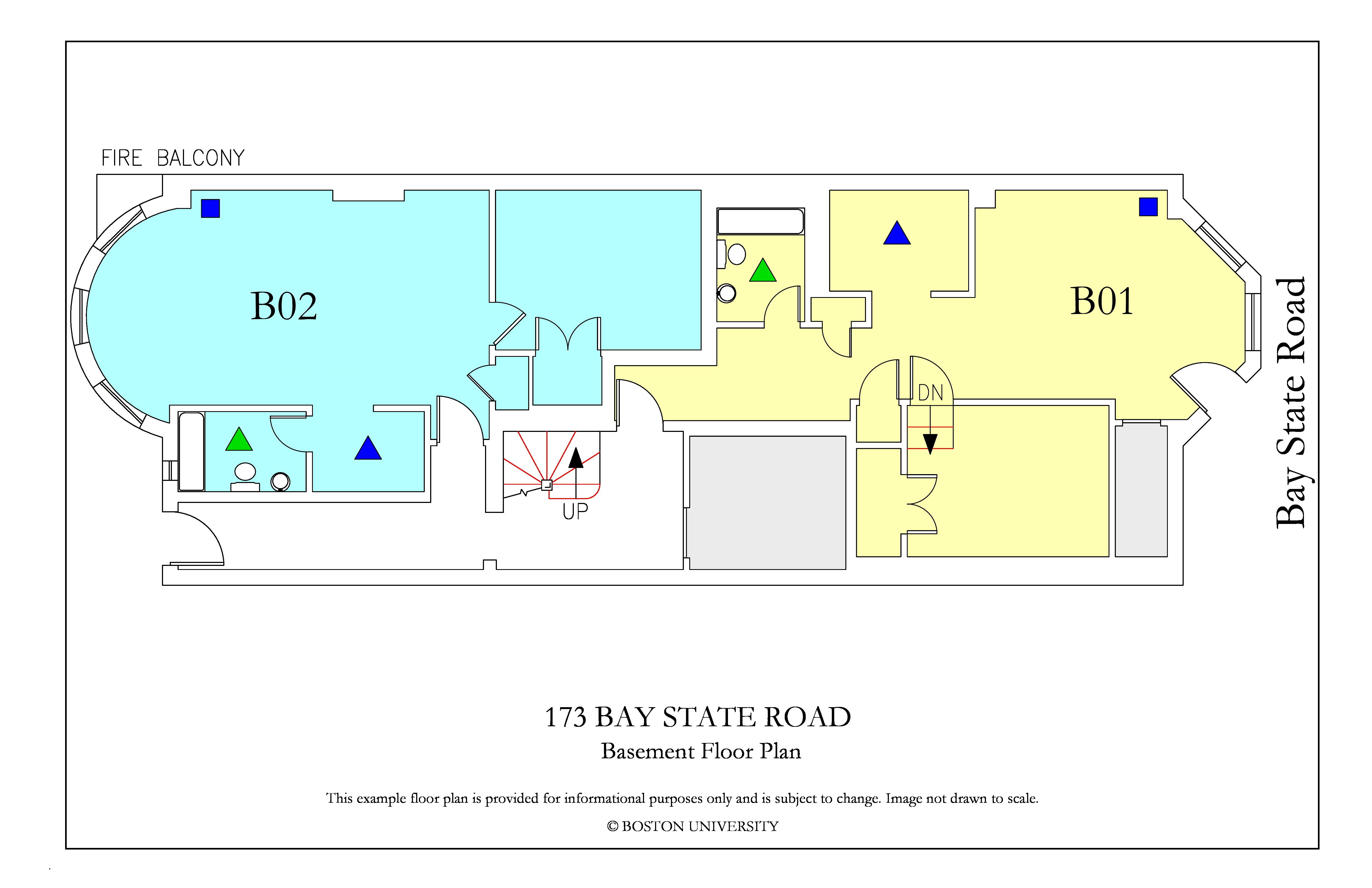 Bu Housing Floor Plans: 173 Bay State Road » Housing