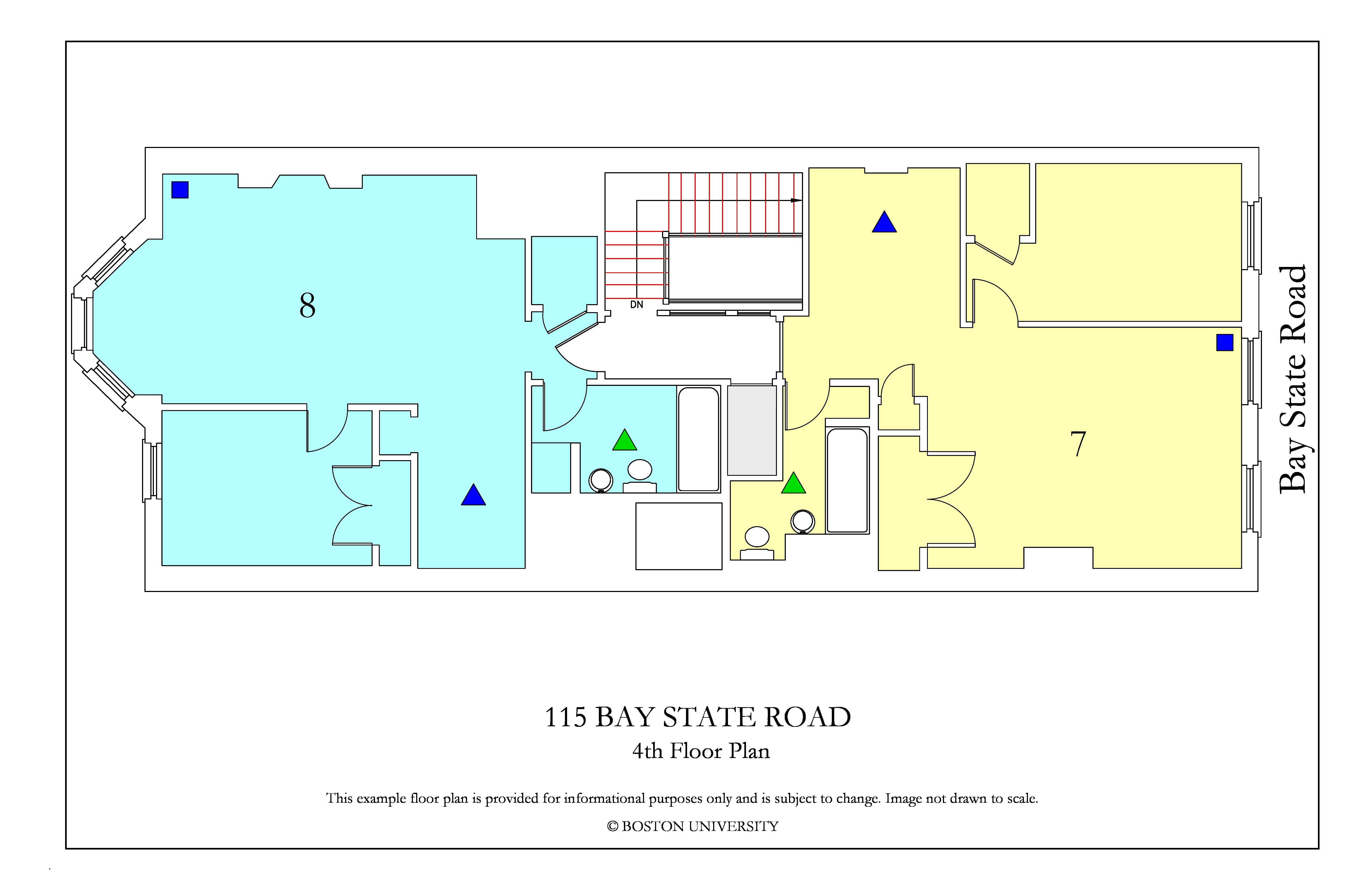 Bu Housing Floor Plans: 115 Bay State Road » Housing