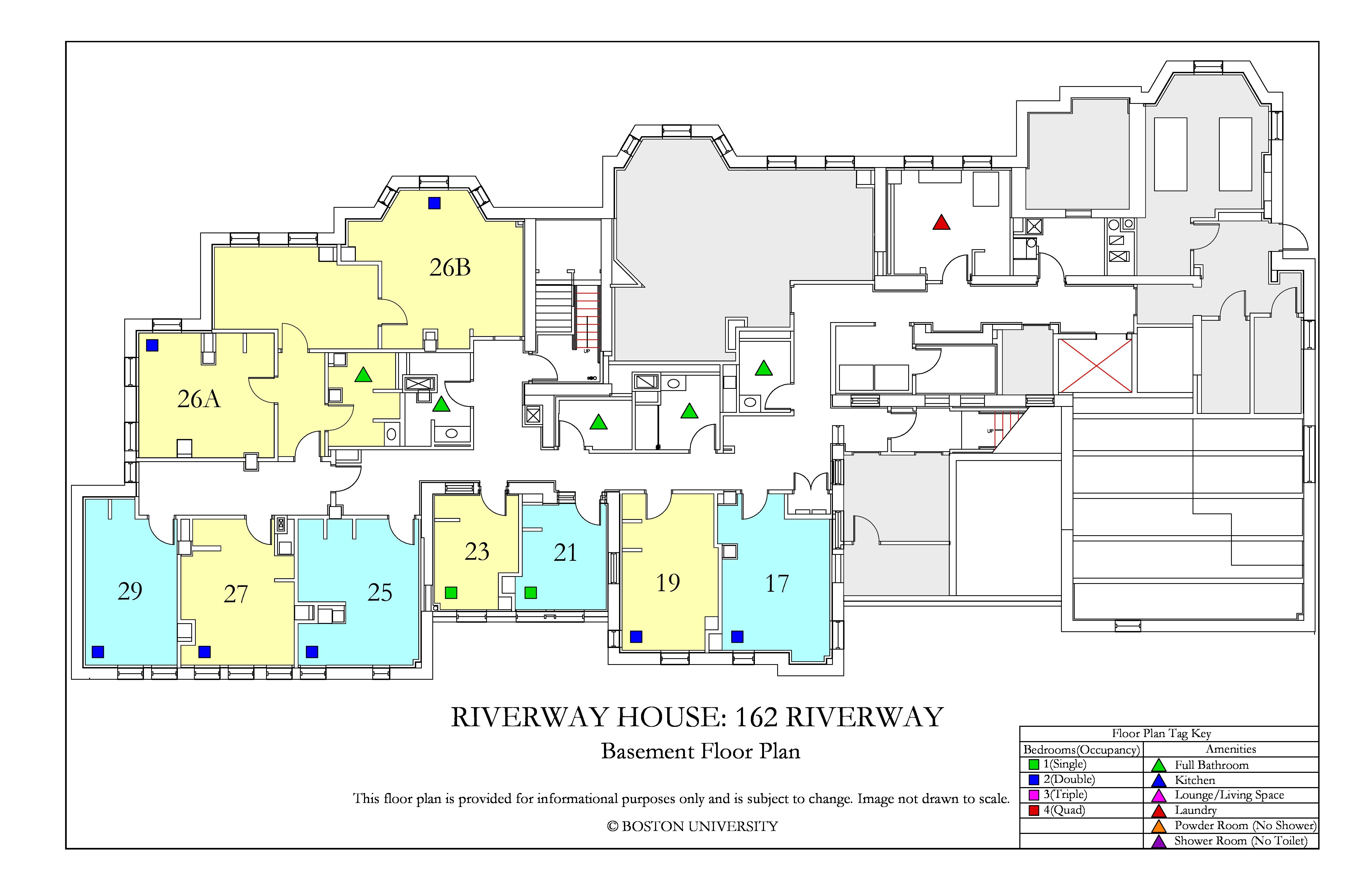 Riverway_BasementFloor, Basement Floor