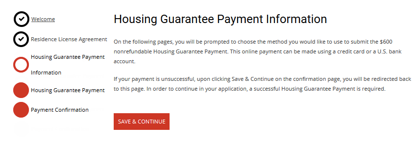 Housing Guarantee Payment Continuing