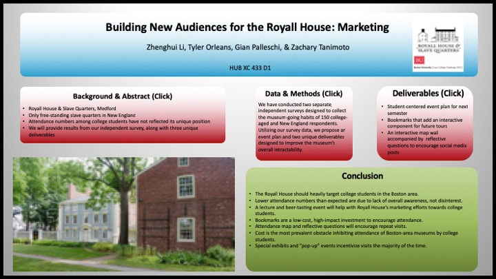 Building New Audiences for the Royall House-FourMarketeers