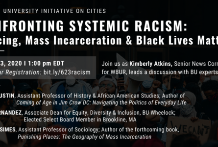 Confronting Systemic Racism flyer