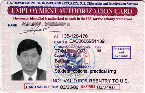 Sample Immigration Documents » International Students & Scholars