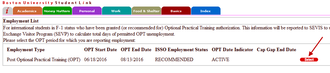 Procedures for Reporting OPT Employer Information » International