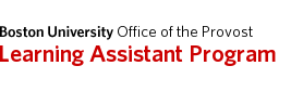 Learning Assistant Program