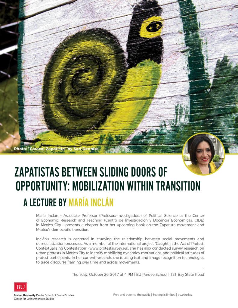 Zapatistas Between Sliding Doors of Opportunity