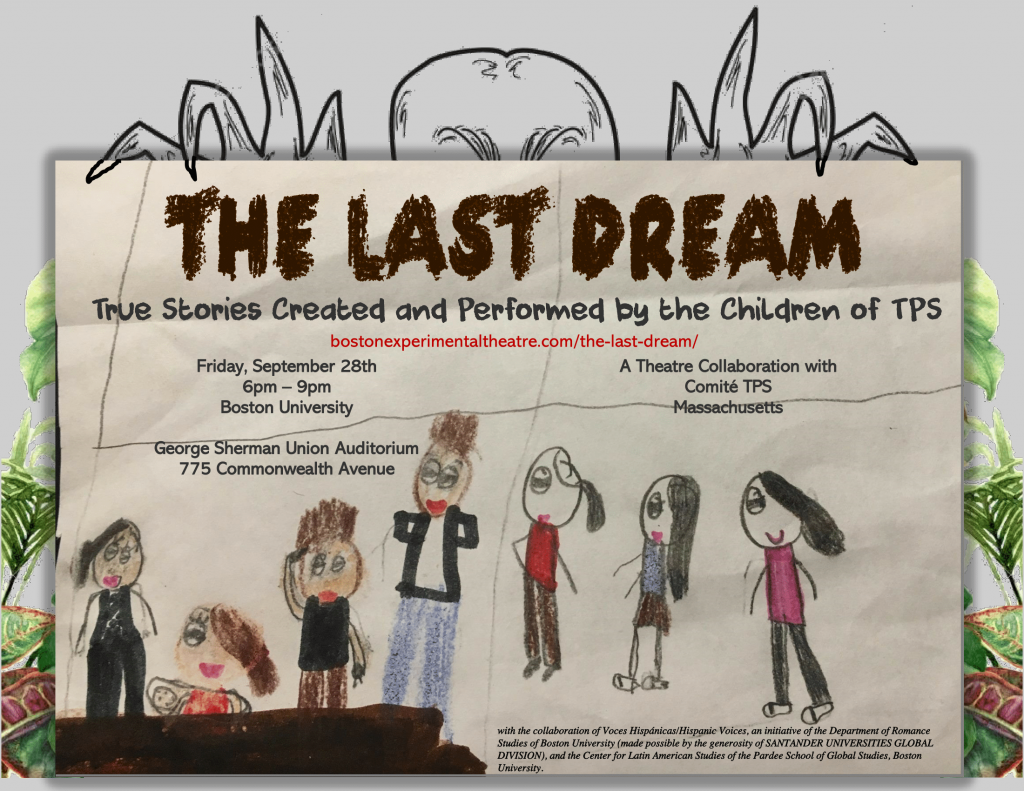 Its Heartbreaking Boston Parents Ask >> The Last Dream True Stories Created And Performed By The Children