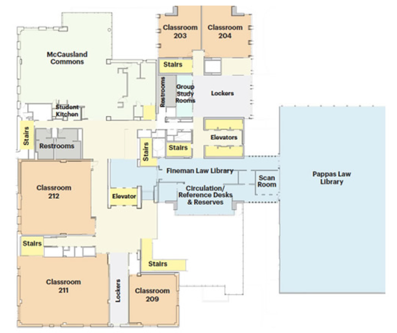 Law School Complex Floor Plans | School of Law