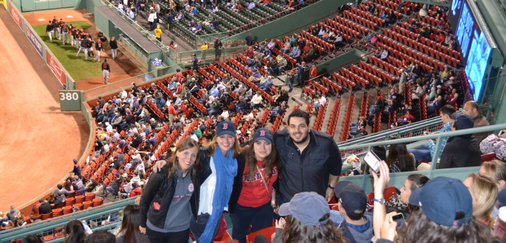 A group of law students in a baseball game