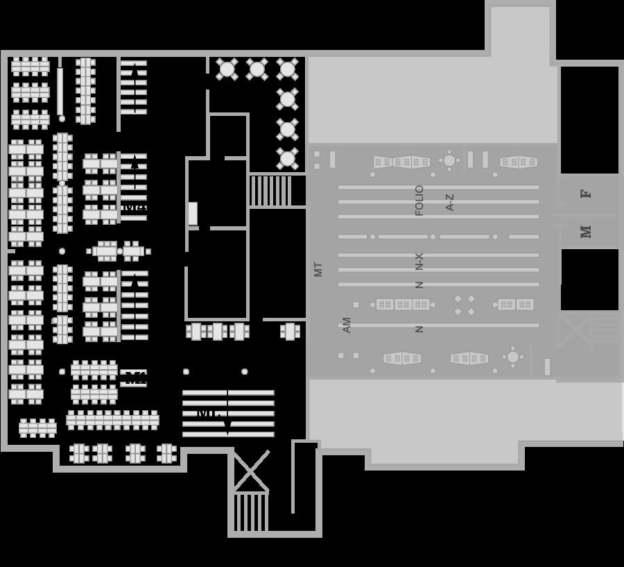 Music Library Floorplan