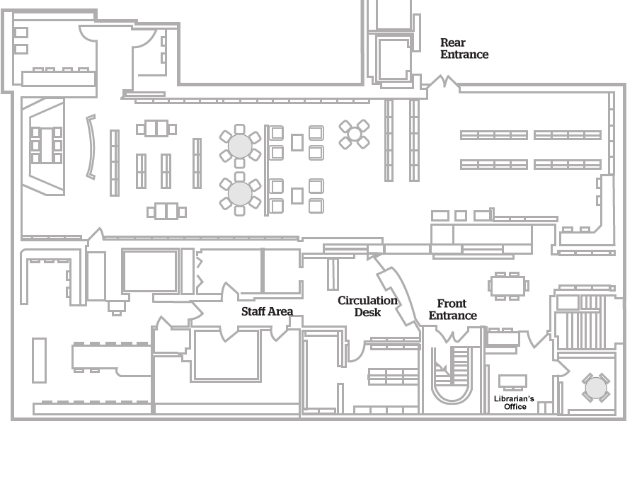 Floorplans BU Libraries